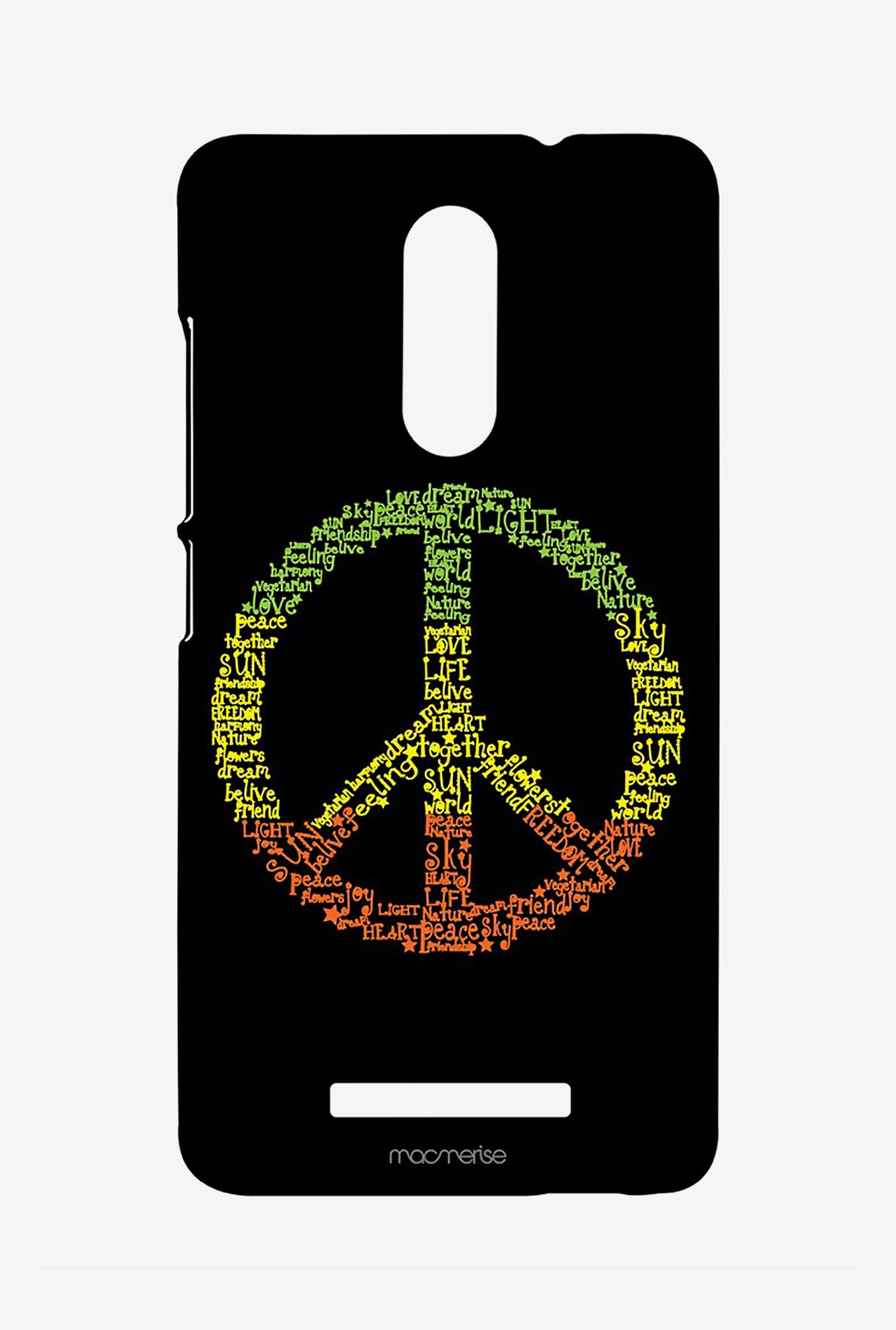 Macmerise XACN3SMI0380 Symbol of Peace Sublime Case for Xiaomi Redmi Note 3