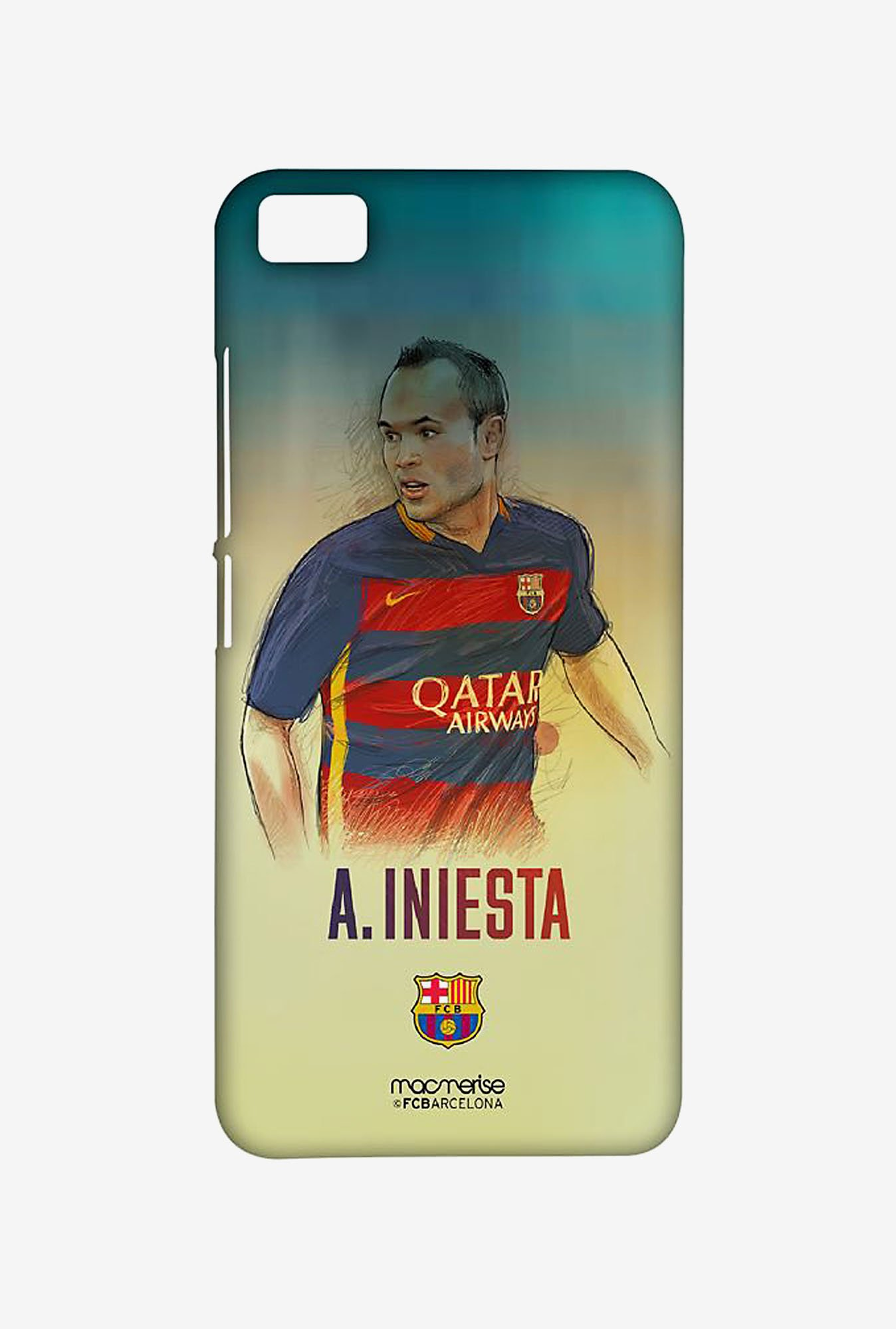 Macmerise XACM5SBA0152 Illustrated Iniesta Sublime Case for Xiaomi Mi5
