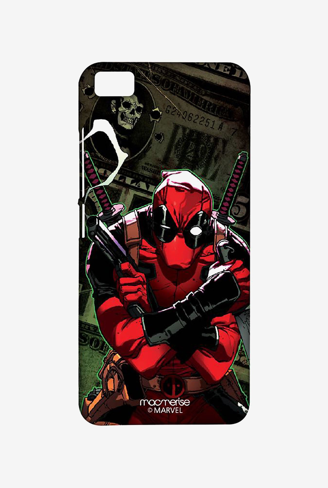 Macmerise XACM5SMM0266 Deadpool Dollar Sublime Case for Xiaomi Mi5