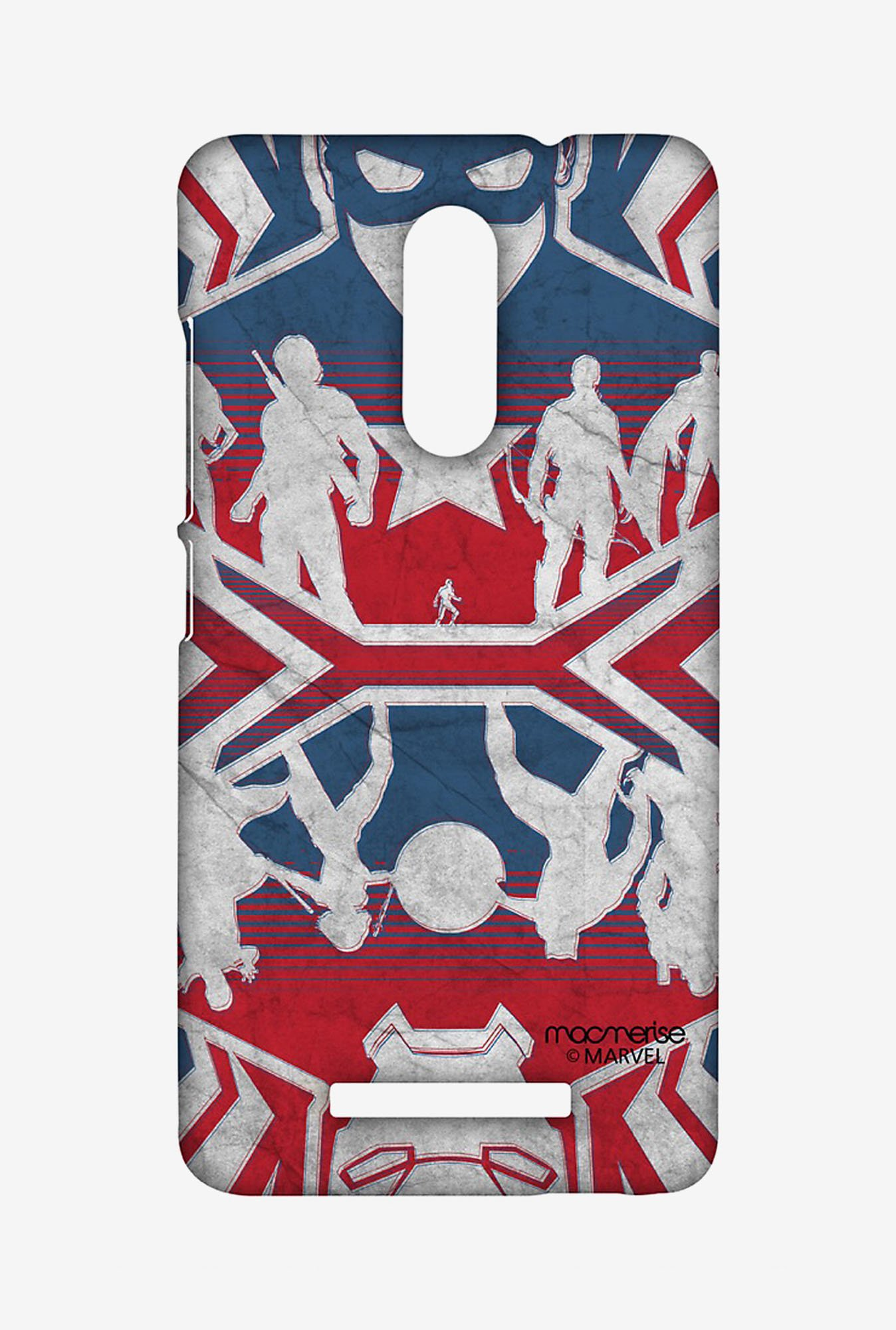 Macmerise XACN3SMM0488 Reflection Captain America Sublime Case for Xiaomi Redmi Note 3