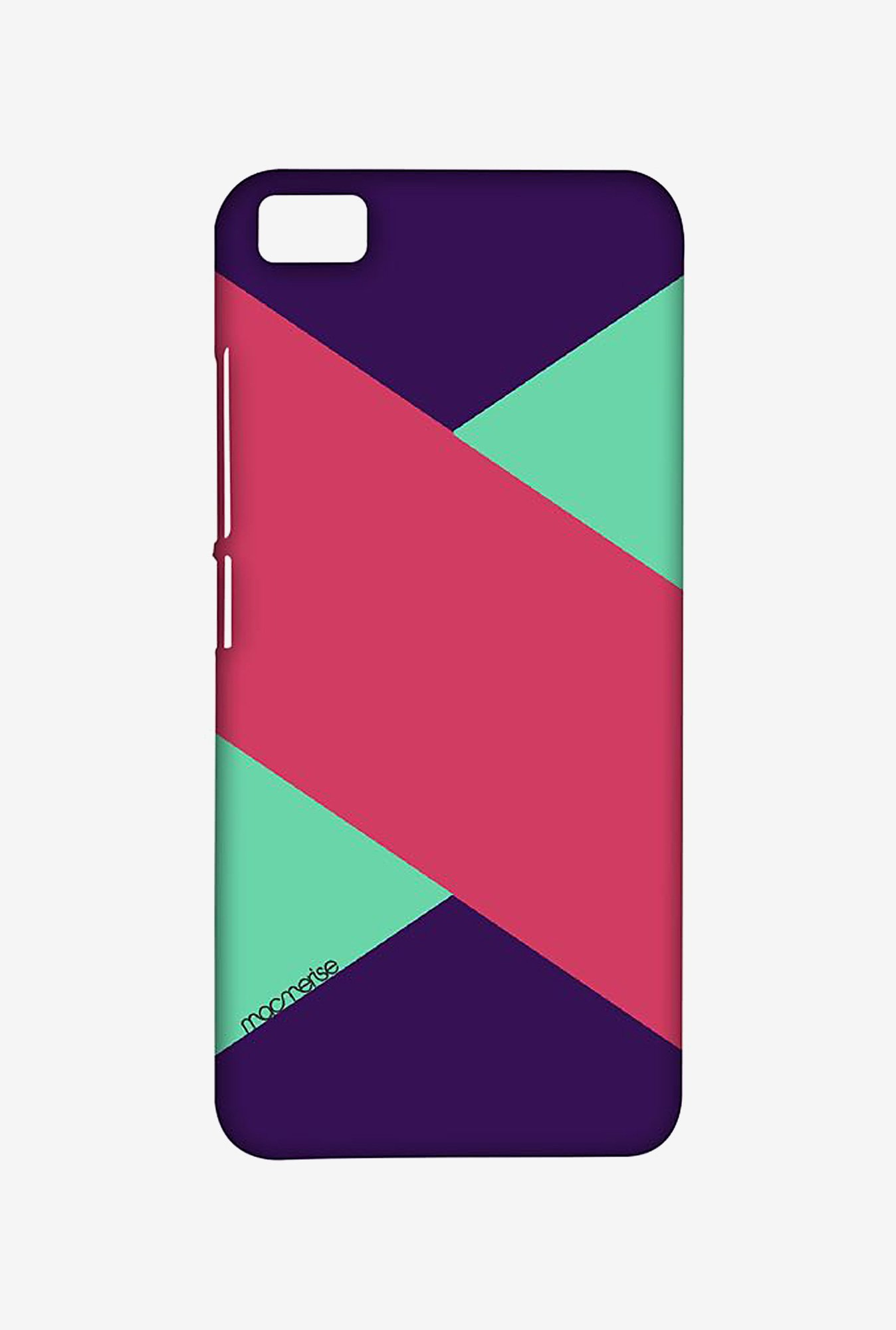 Macmerise XACM5SMI0914 Tealpink Stripes Sublime Case for Xiaomi Mi5