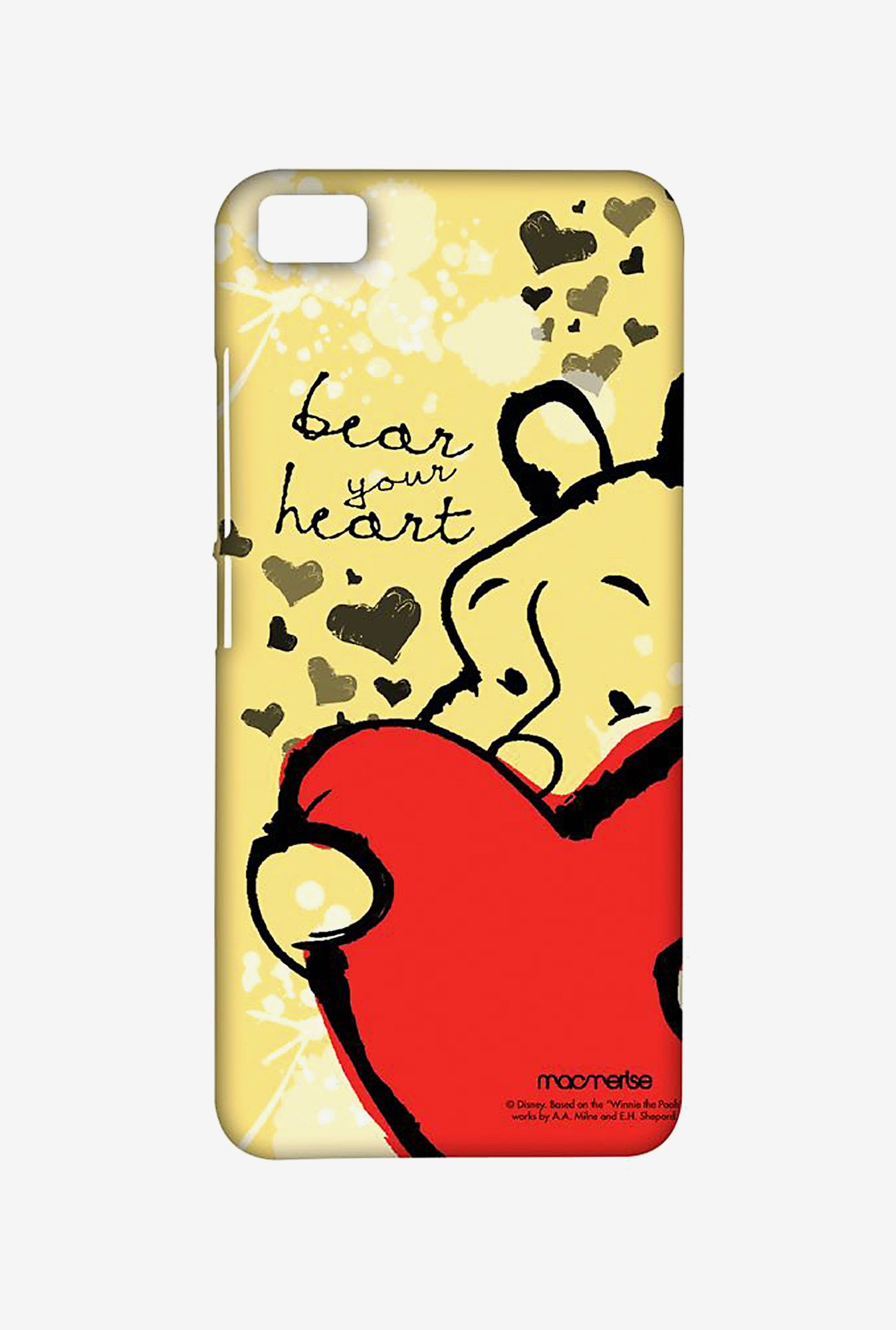 Macmerise XACM5SDD0122 Winnie my heart Sublime Case for Xiaomi Mi5