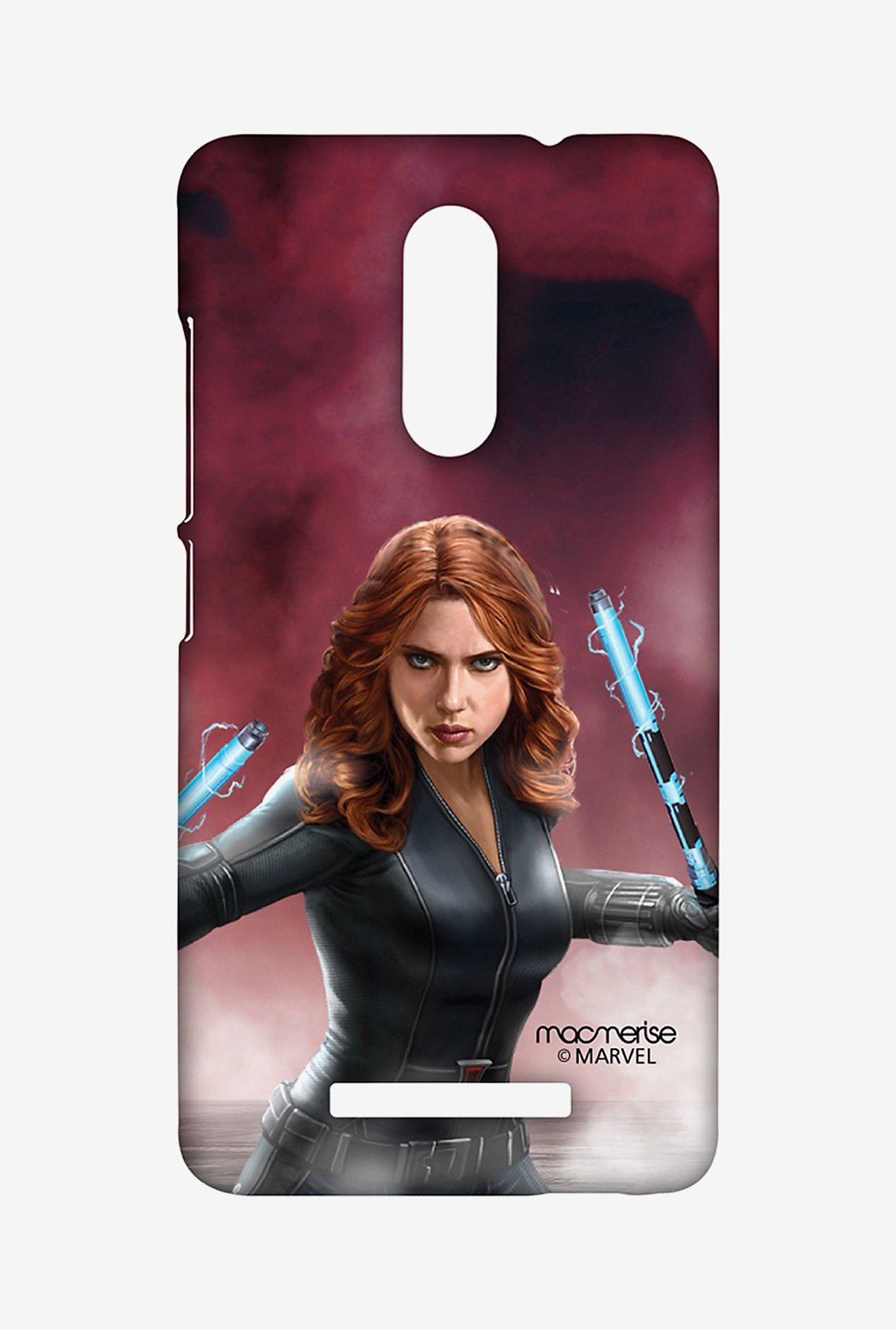 Macmerise XACN3SMM0596 Team Red Black Widow Sublime Case for Xiaomi Redmi Note 3
