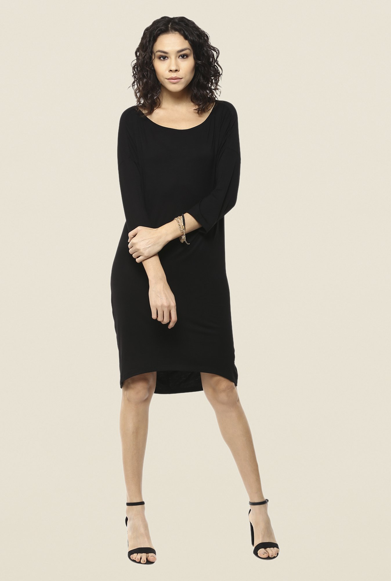 Femella Black Shift Dress