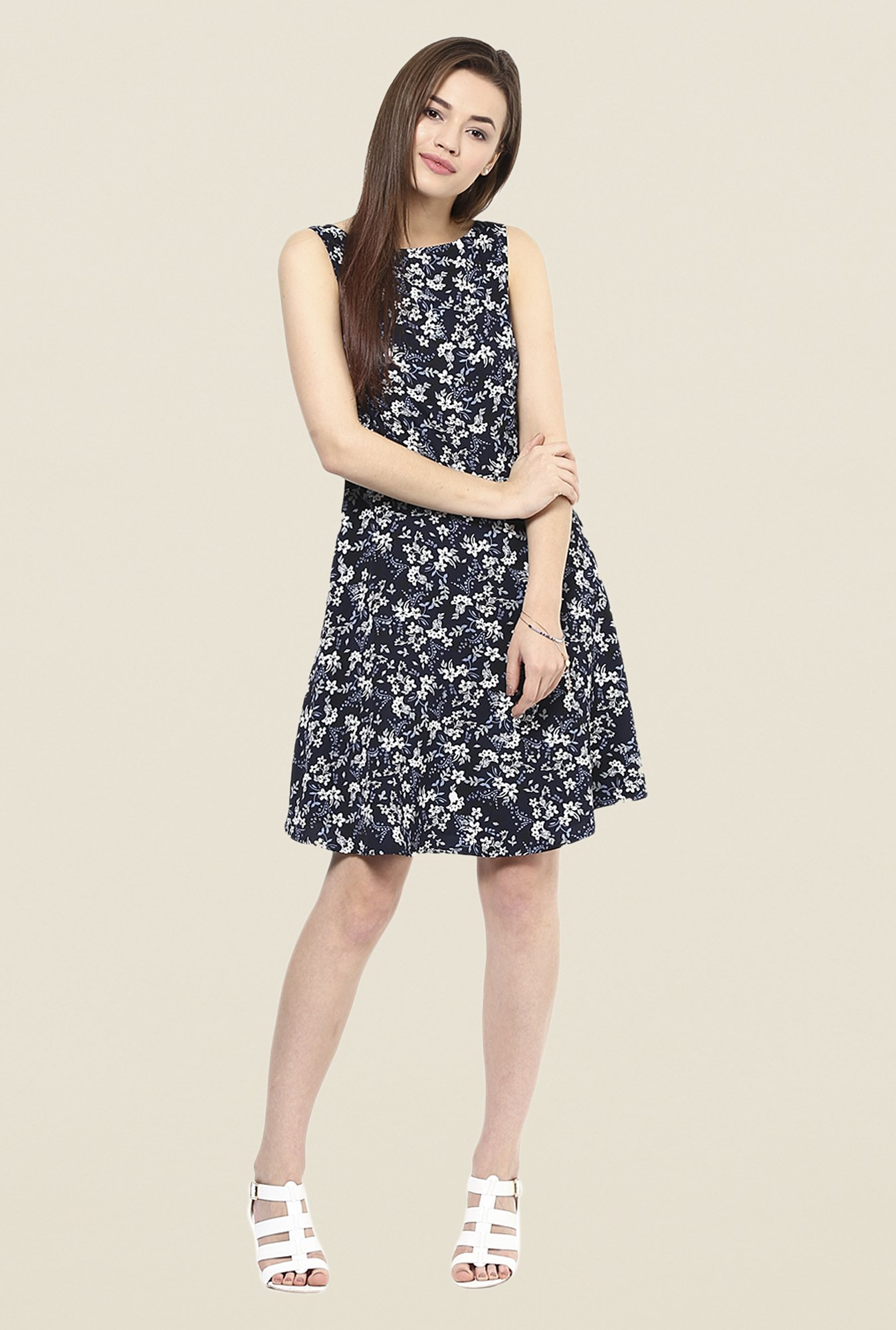 Femella Navy Shift Dress