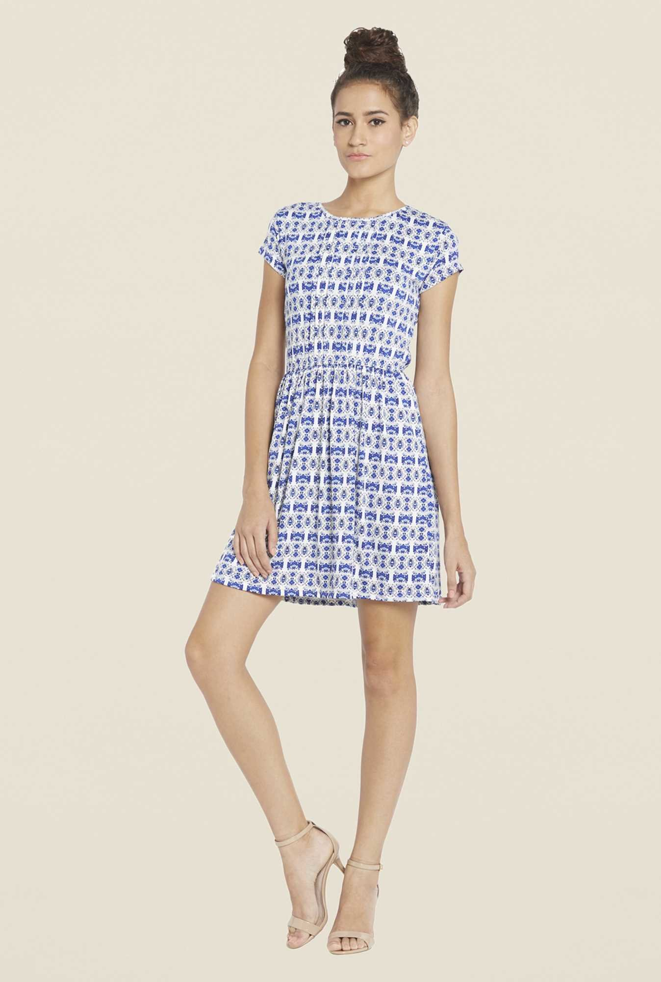 Globus Blue Skater Dress