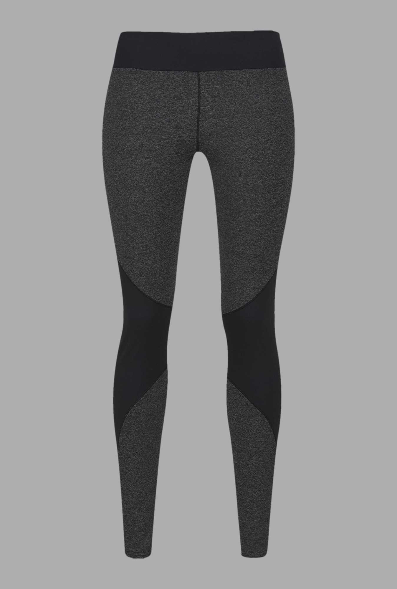 Doone Grey Solid Training Pants