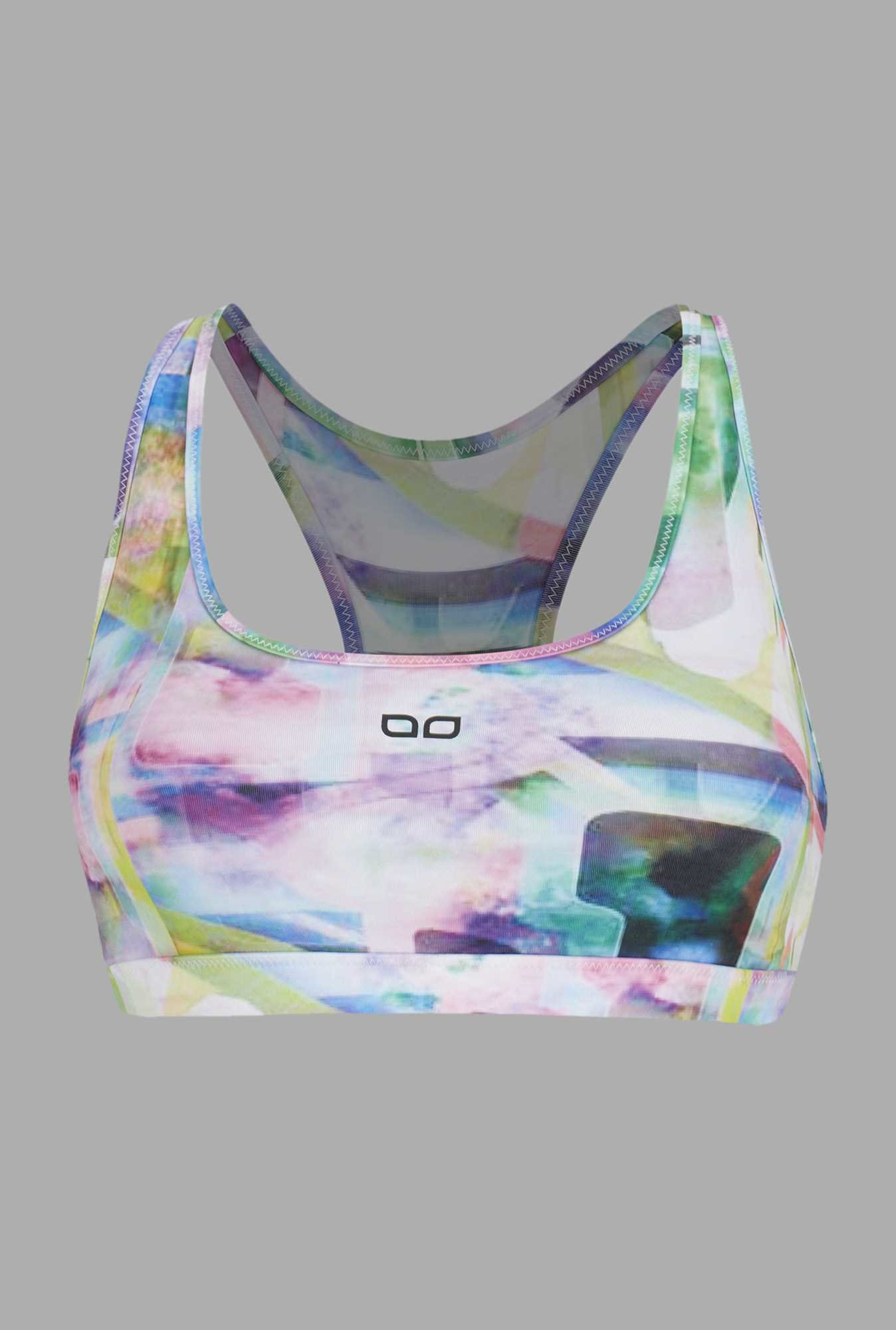 Doone Pink Printed Training Top