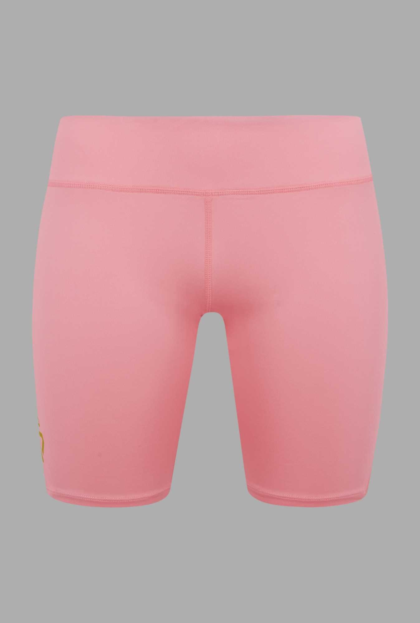 Outpace Coral Solid Running Shorts