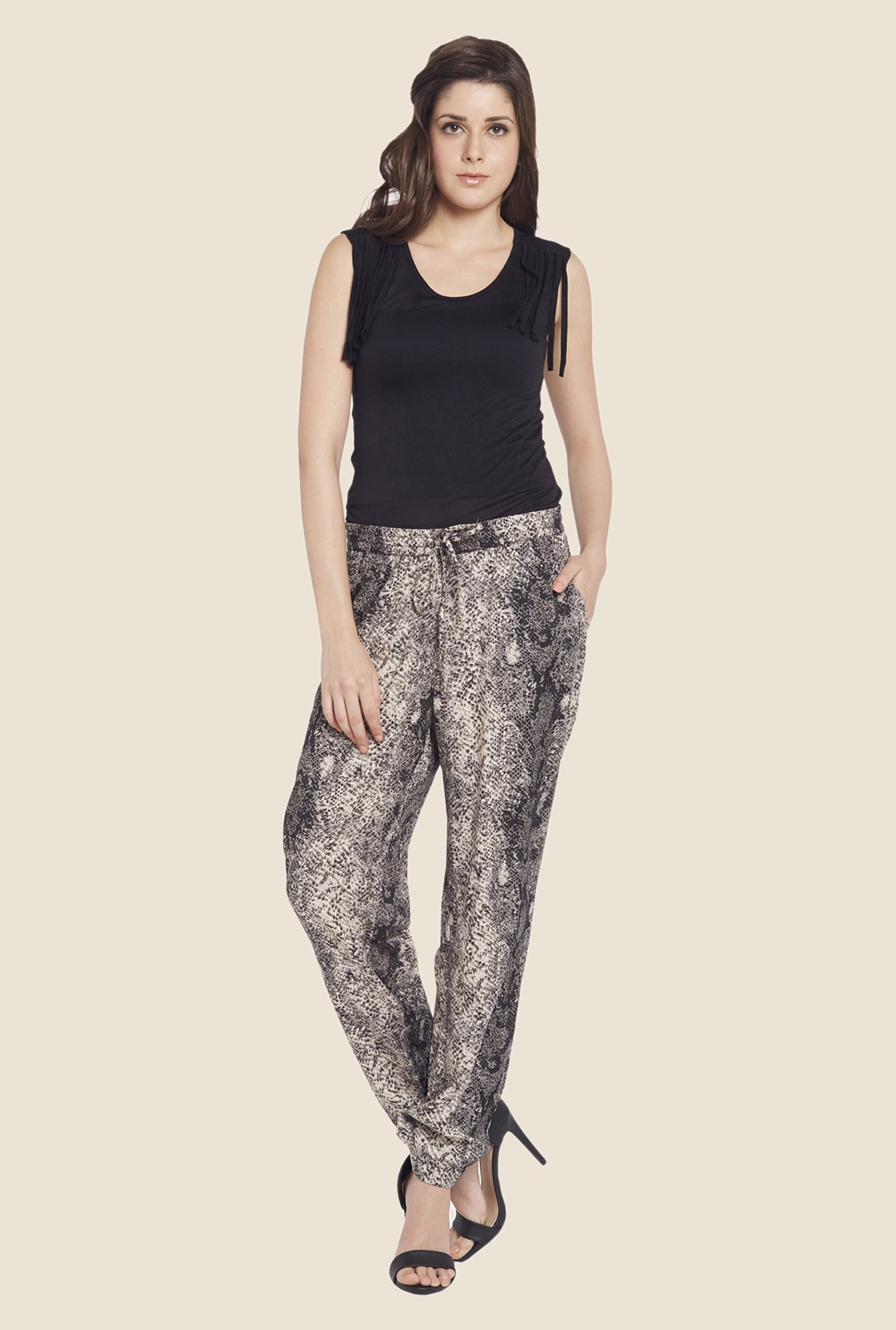 Globus Multicolor Printed Trousers