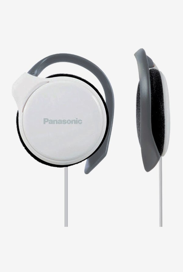 Panasonic RP-HS46 On The Ear Headphones (White)