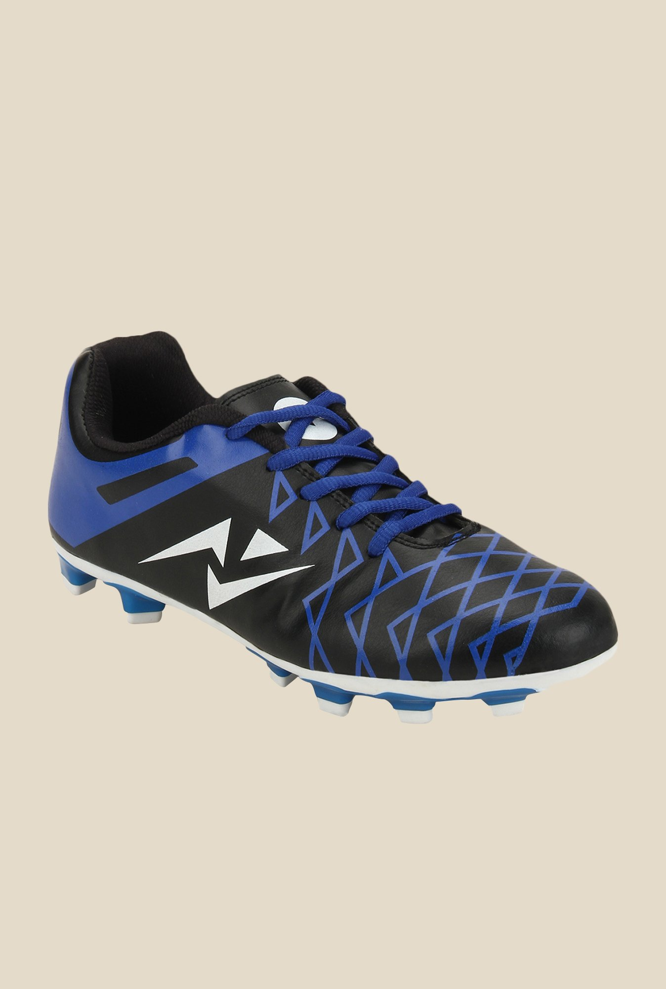Yepme Blue & Black Football Shoes