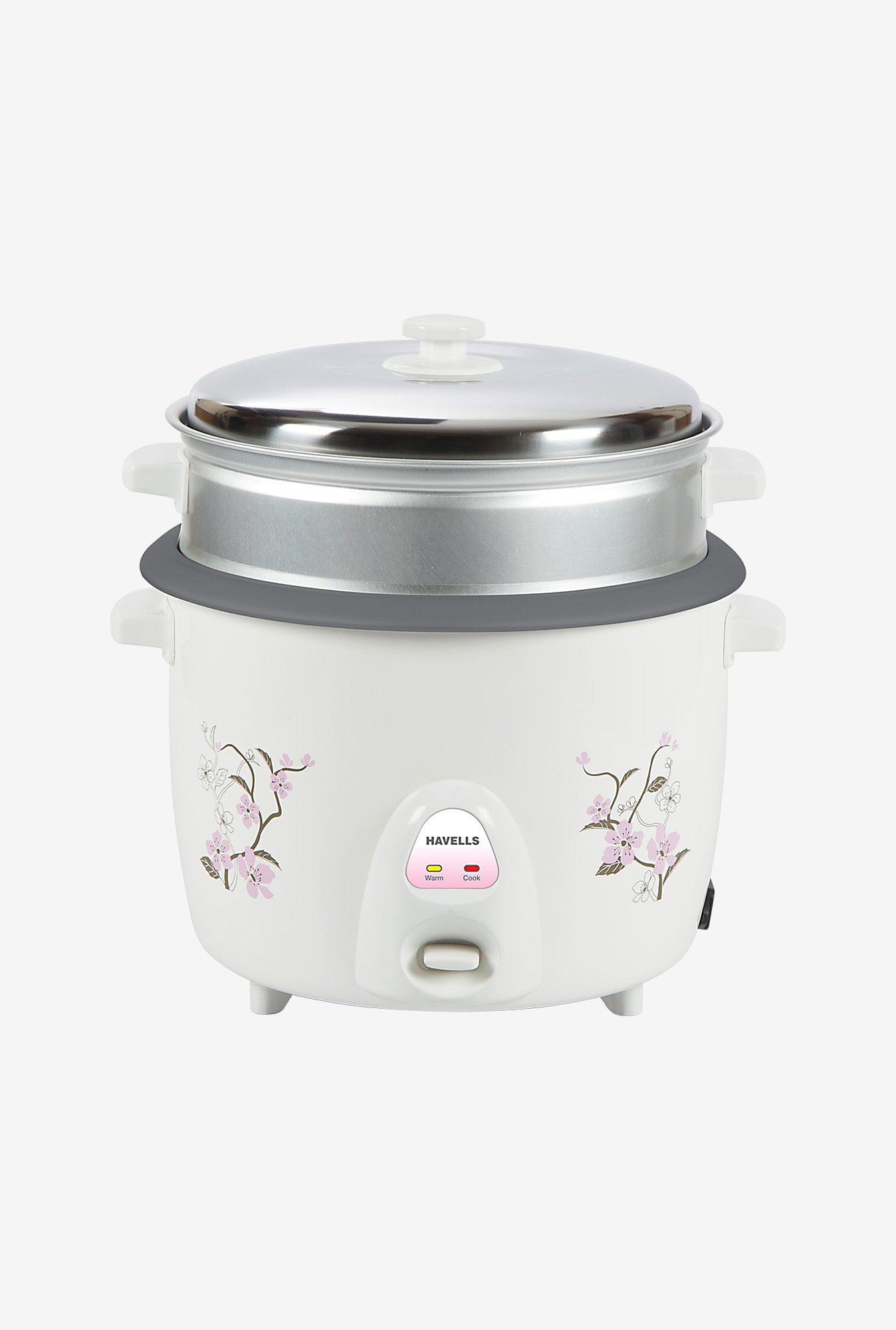 Havells Riso GHCRCBMW090 2.2 L Electric Cooker (White)