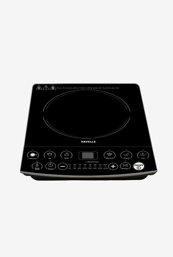 Havells Insta Cook ET 1900 W Induction Cooktop (Black)