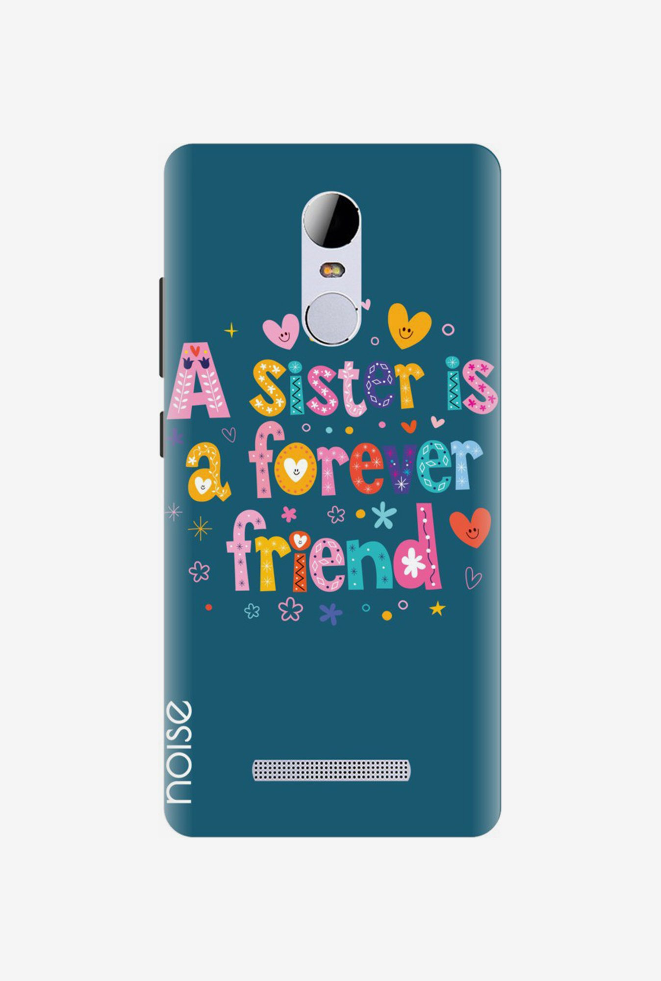 Noise TP-102-UV Back Case for Xiaomi Redmi Note 3 (Blue)
