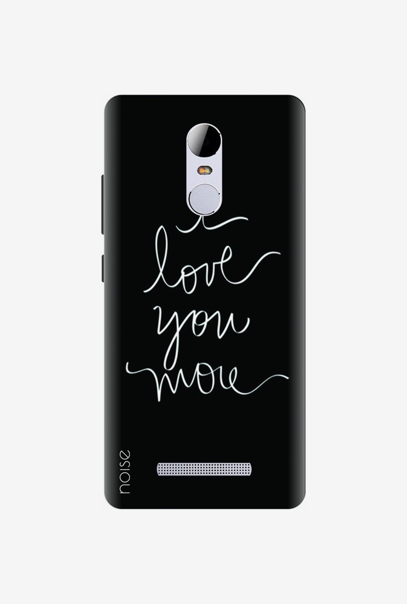 Noise VD-22-UV Back Case for Xiaomi Redmi Note 3 (Black)