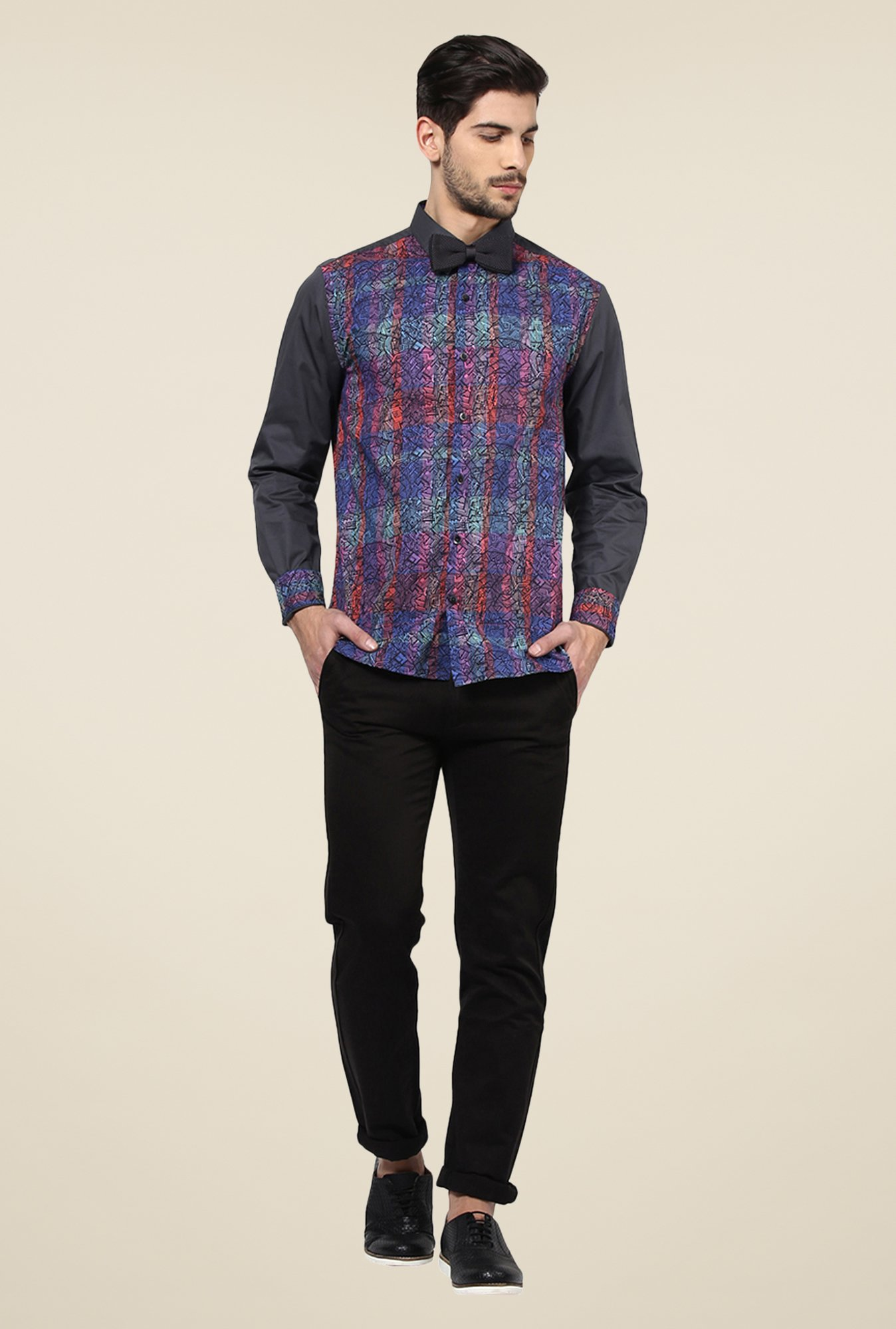 Yepme Multicolor Curt Party Shirt