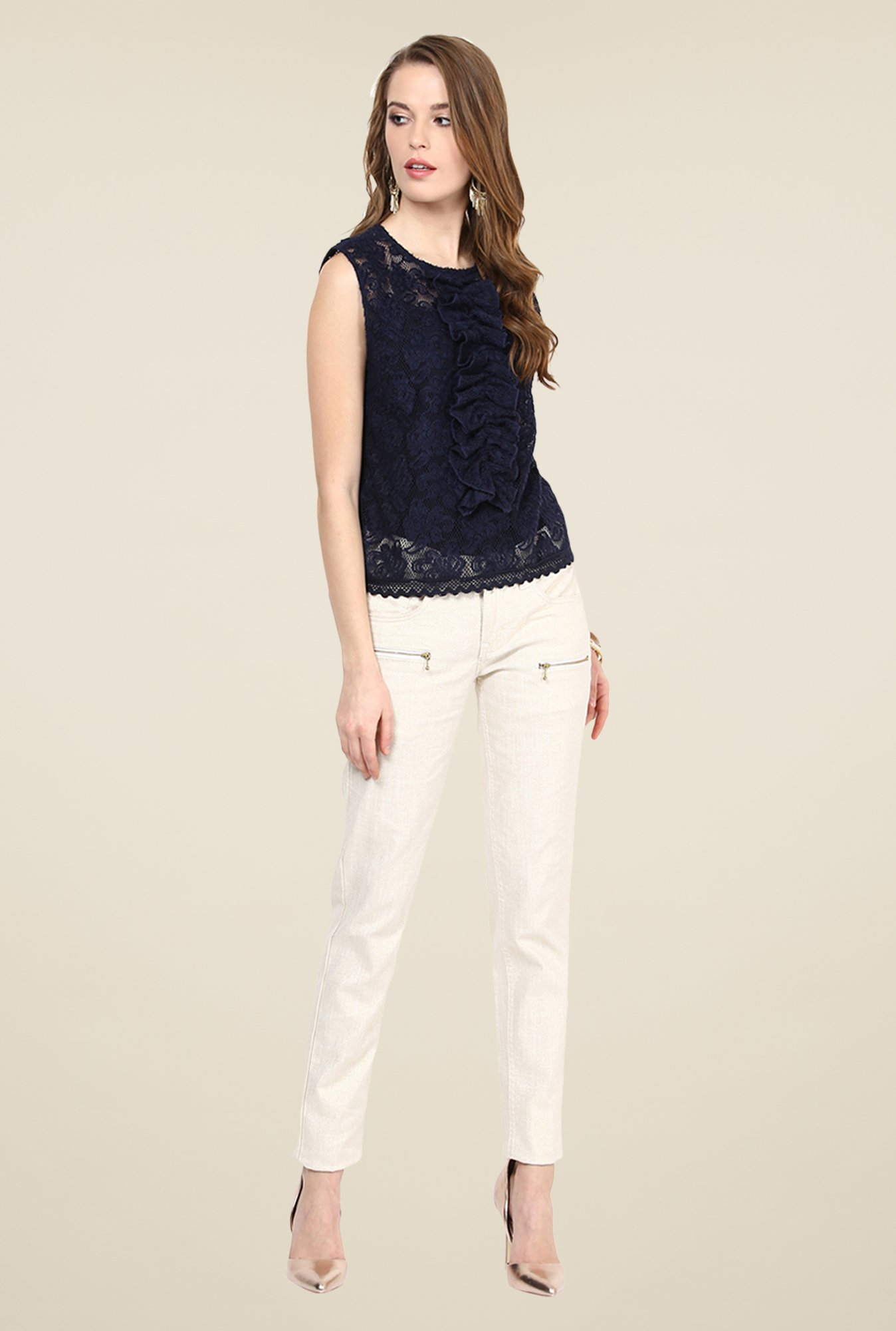 Yepme Jessica Blue Party Top