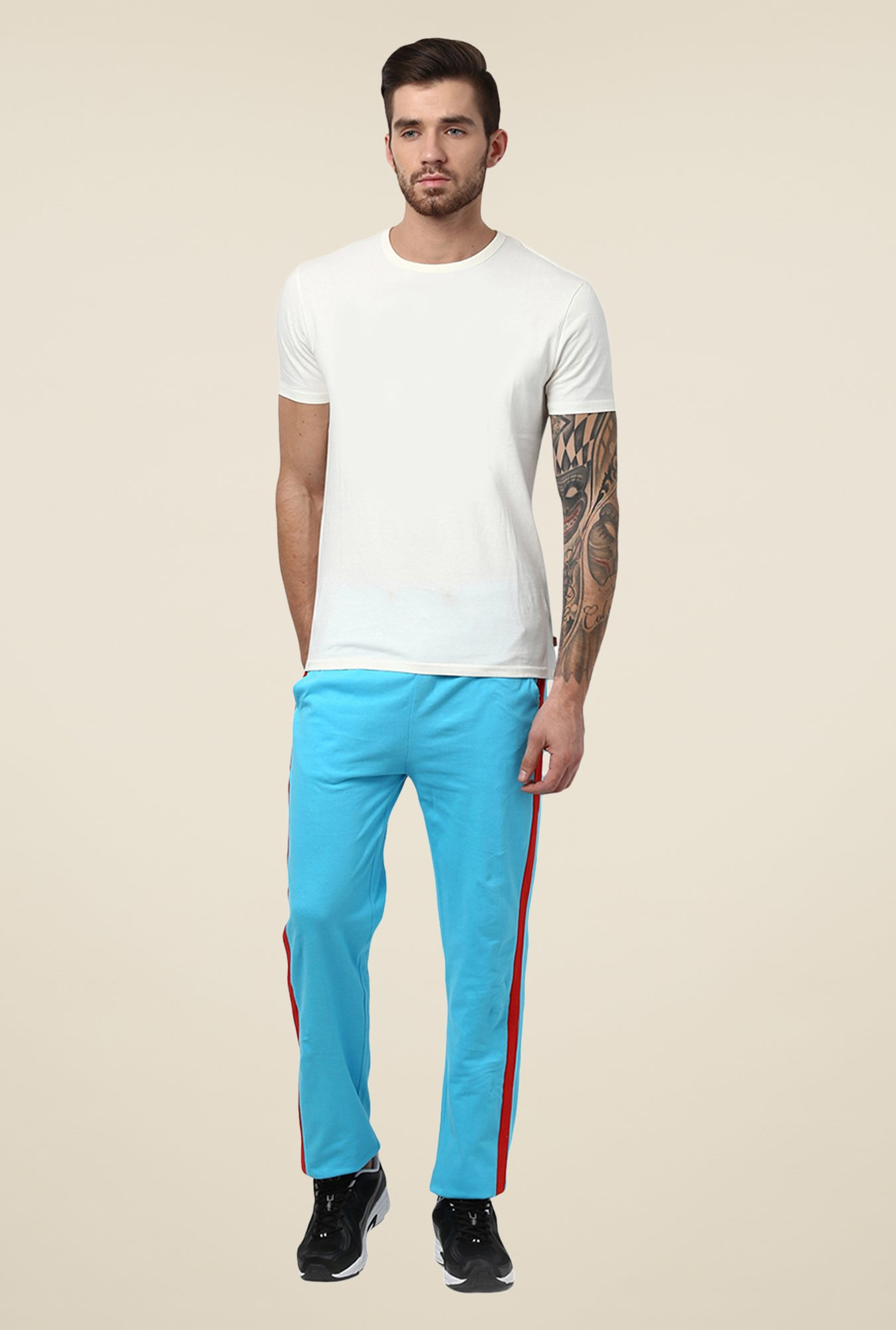Yepme Blue Riocard Trackpants