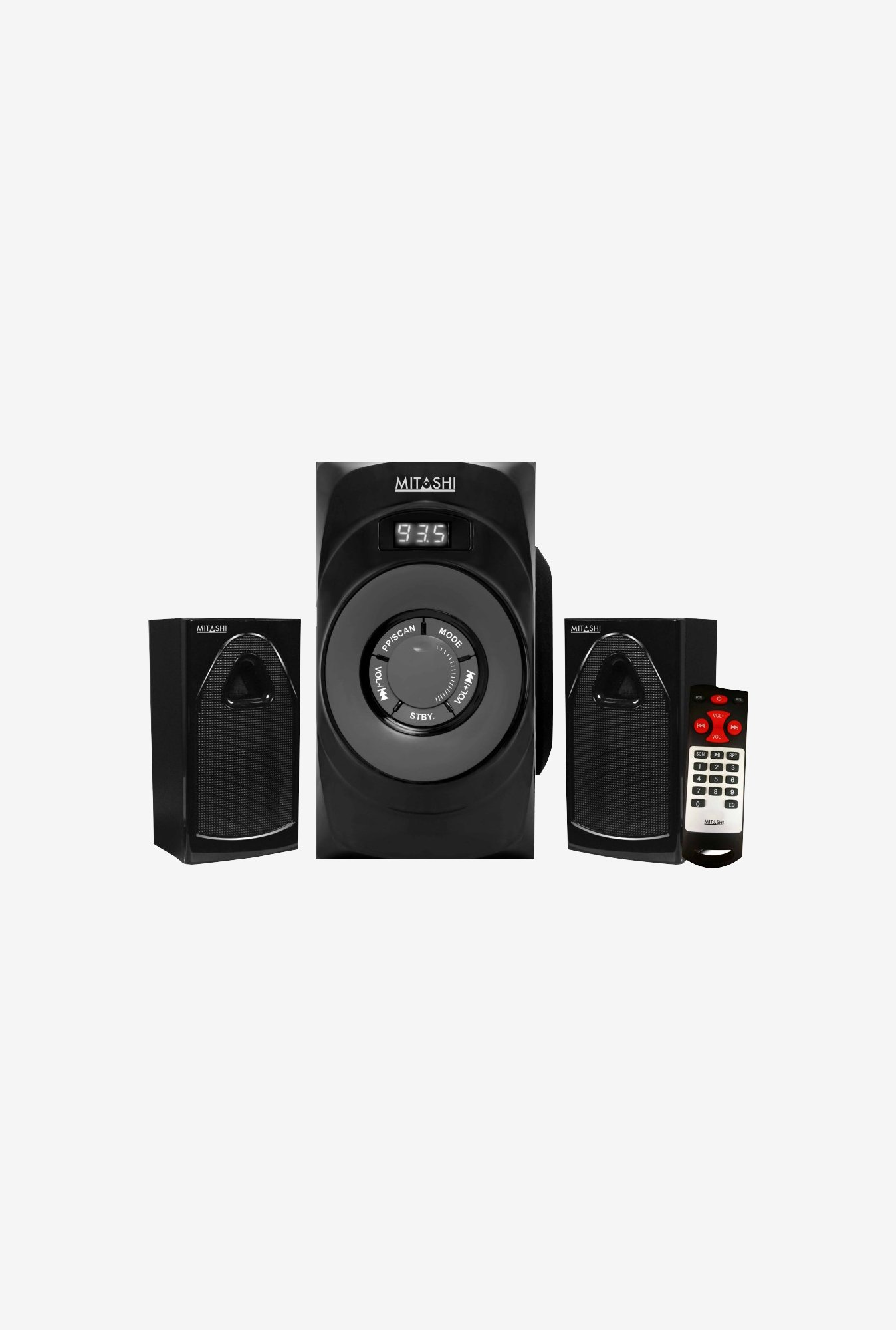 Mitashi HT-2650BT 2.1Ch Bluetooth Home Theatre System(Black)