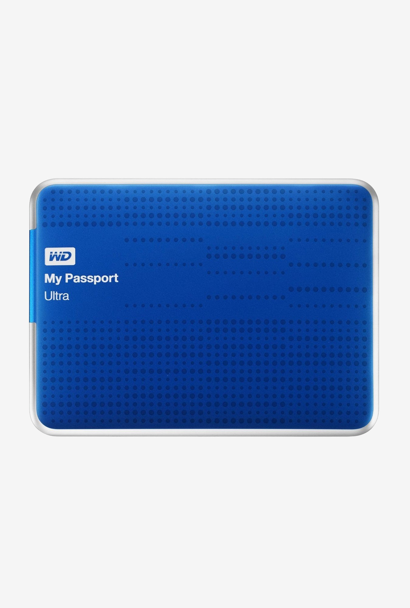 WD My Passport Ultra 2 TB External Hard Disk (Blue)