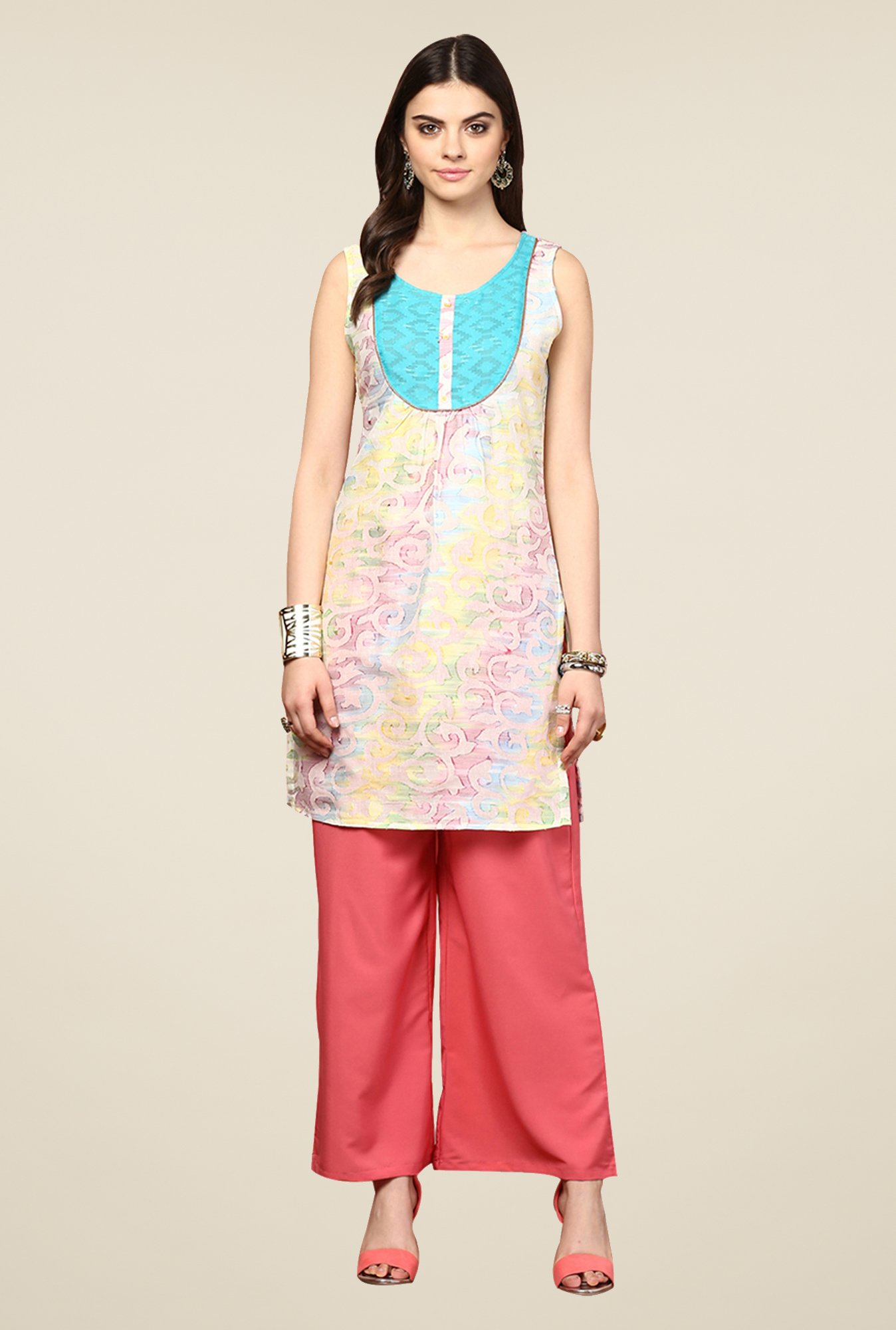 Yepme Kimberly Multicolor Printed Kurti
