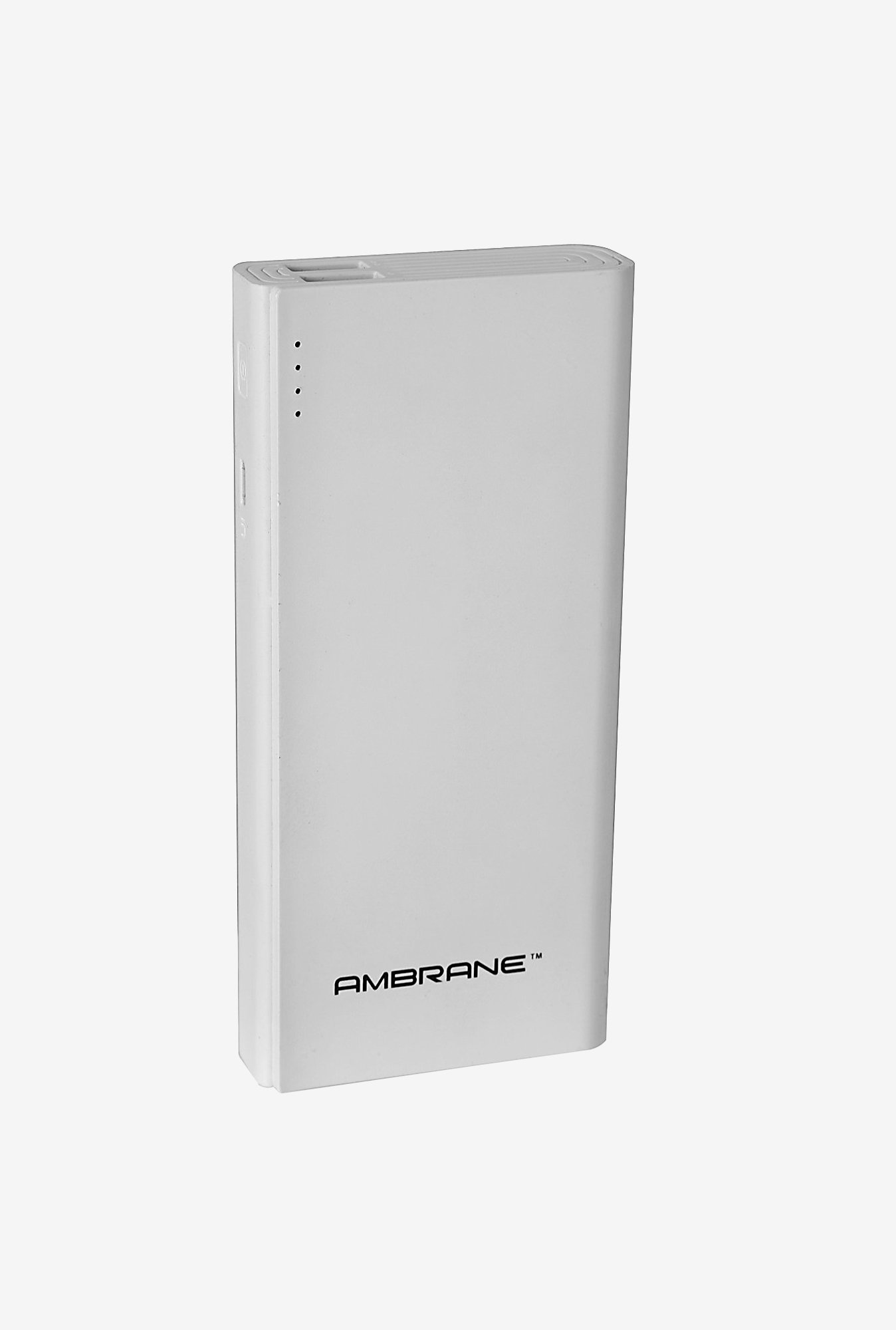 Ambrane P-1333 13000 mAh Power Bank (White)