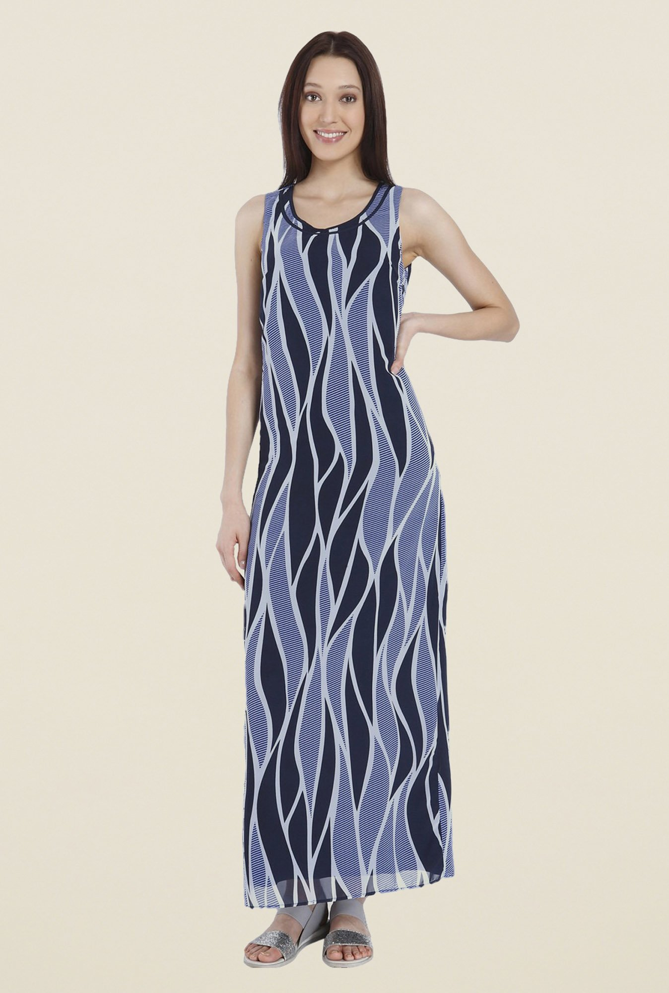 Vero Moda Blue Maxi Dress