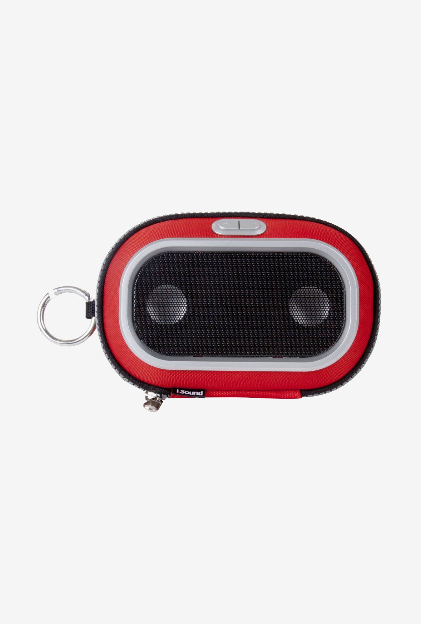 Isound 1673 Concert To Go Portable Speaker Case (Red)
