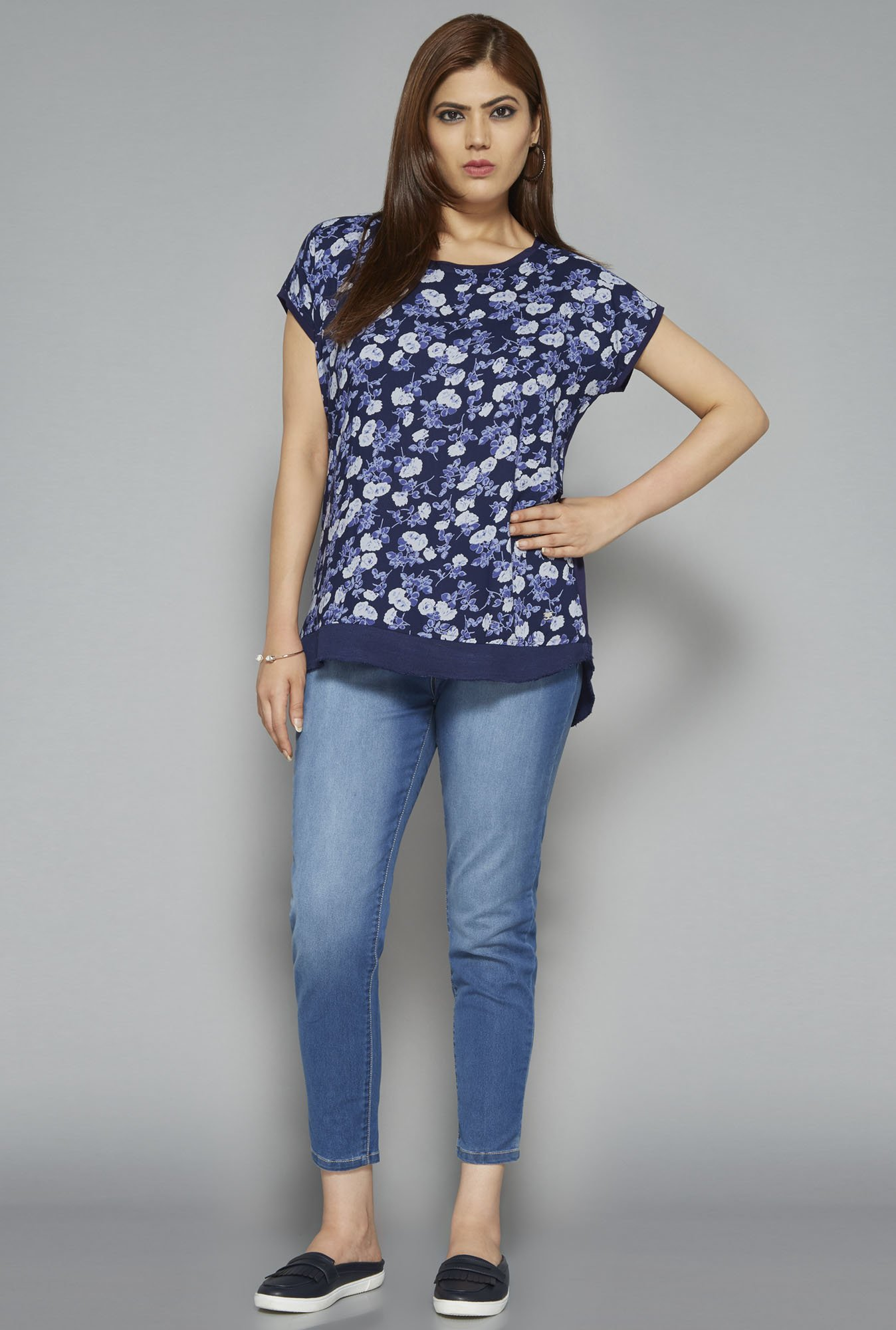 Sassy Soda by Westside Navy Carla Top