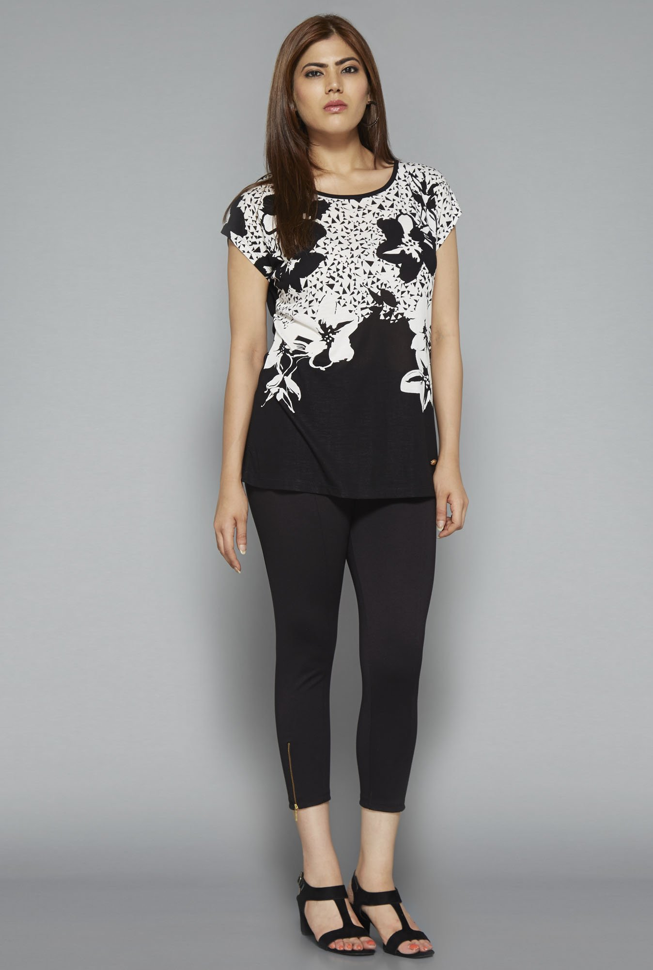 Gia by Westside Black Gail Top