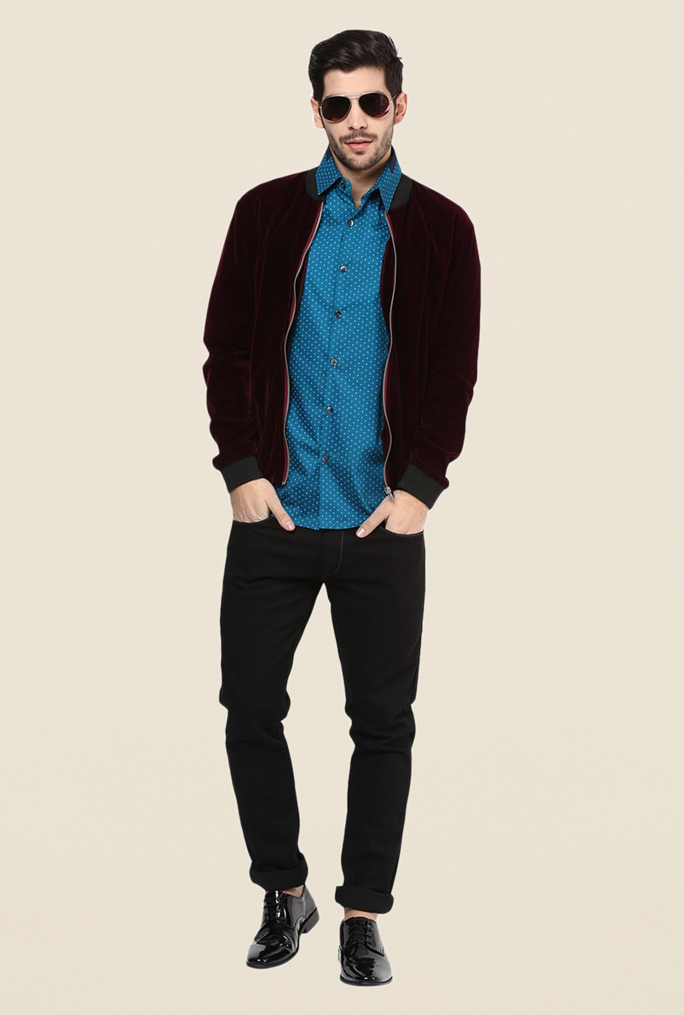 Yepme Wine Keven Party Jacket