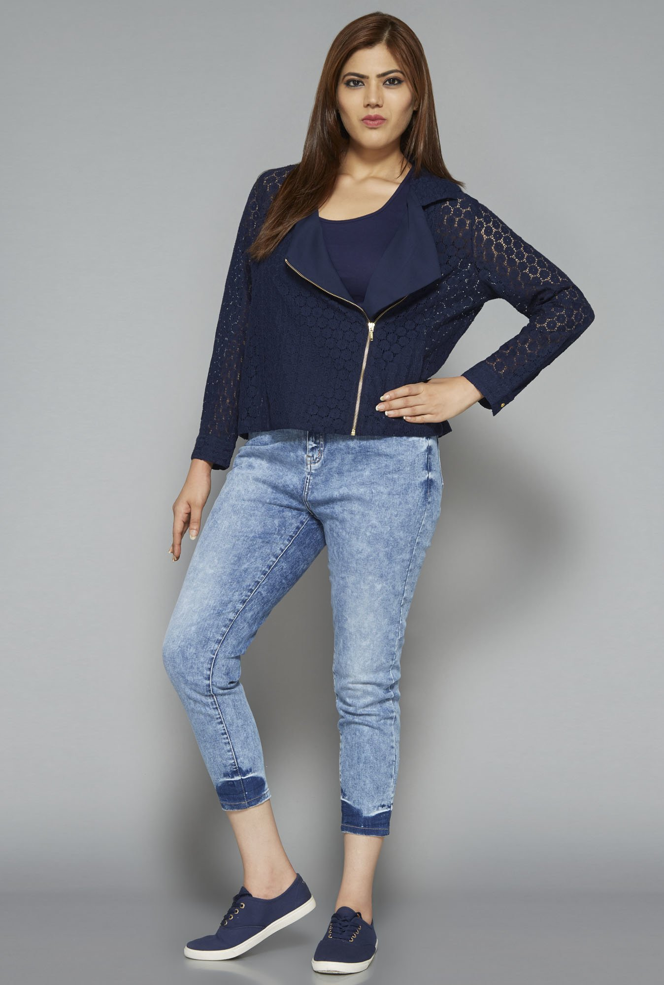 Sassy Soda by Westside Navy Gilly Jacket