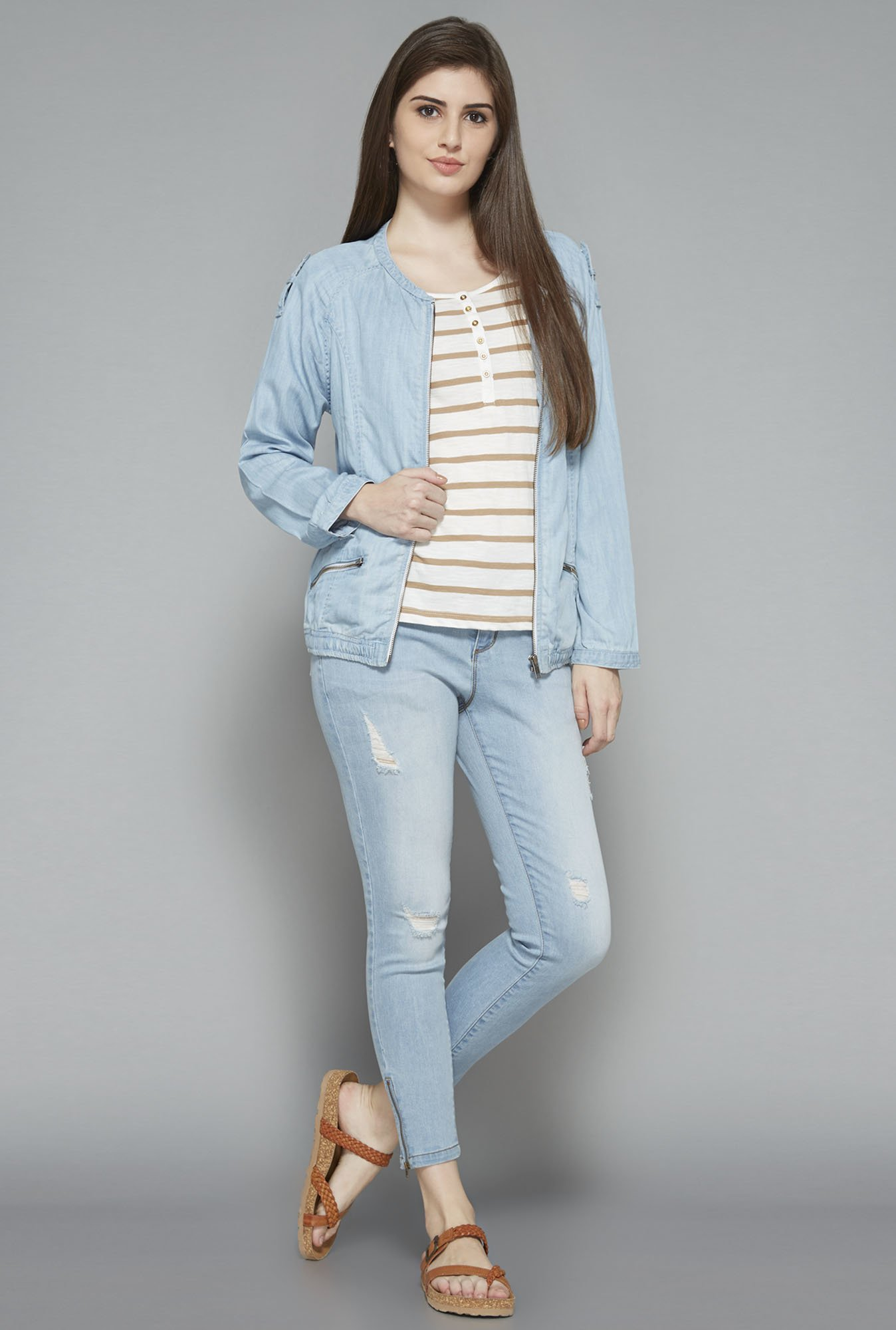 LOV by Westside Blue Decca Jacket