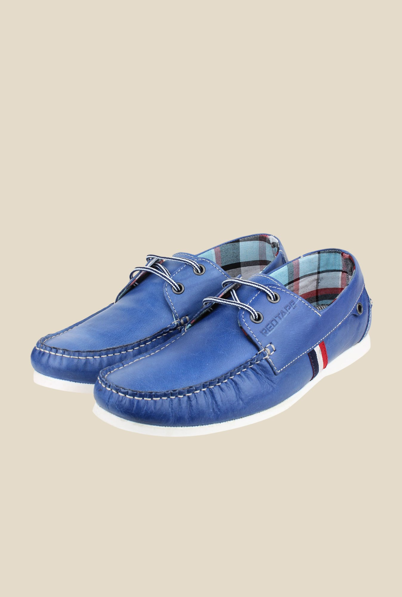 Red Tape Blue Casual Shoes
