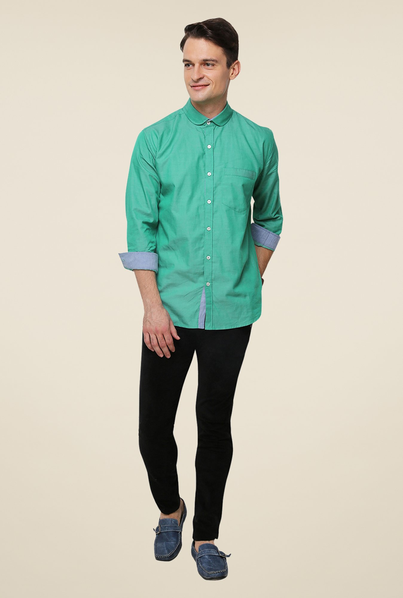 Yepme Green Brokovich Premium Shirt