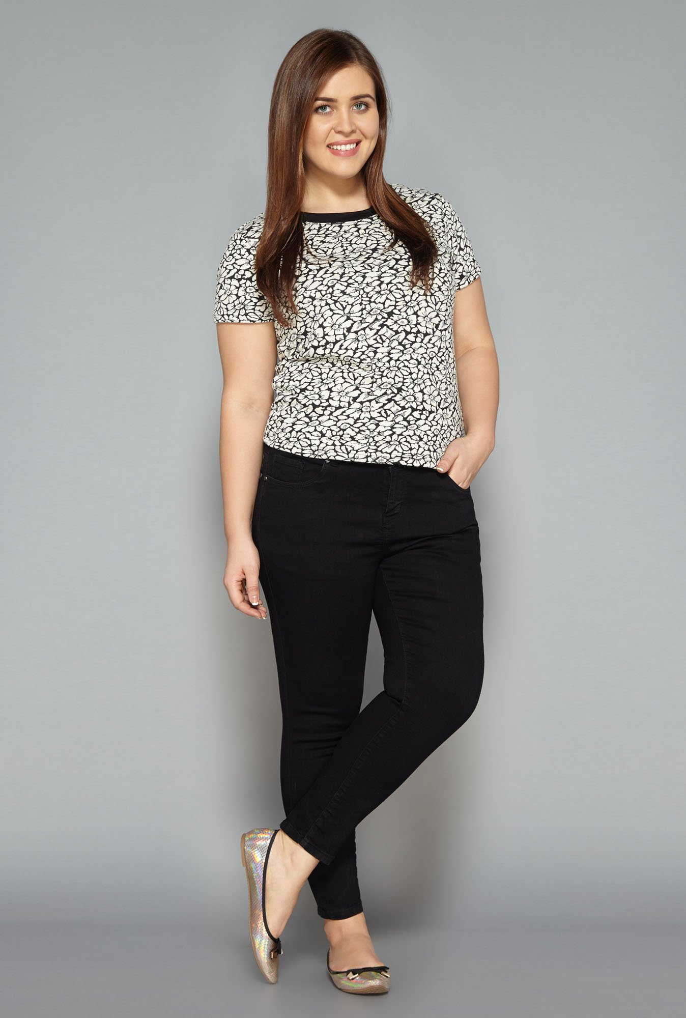 Sassy Soda Black Slim Fit Jeans