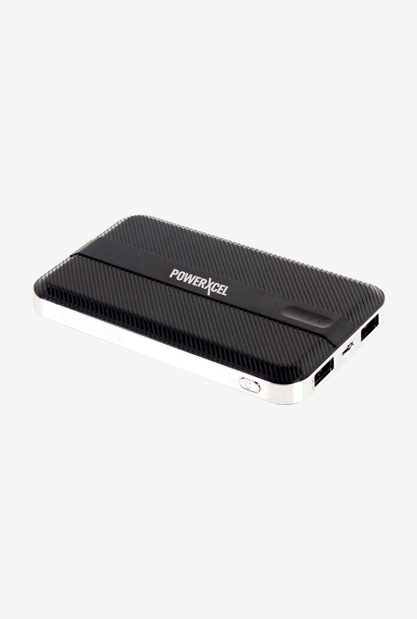 PowerXcel RBB042PX 10000 mAh Power Bank (Black)