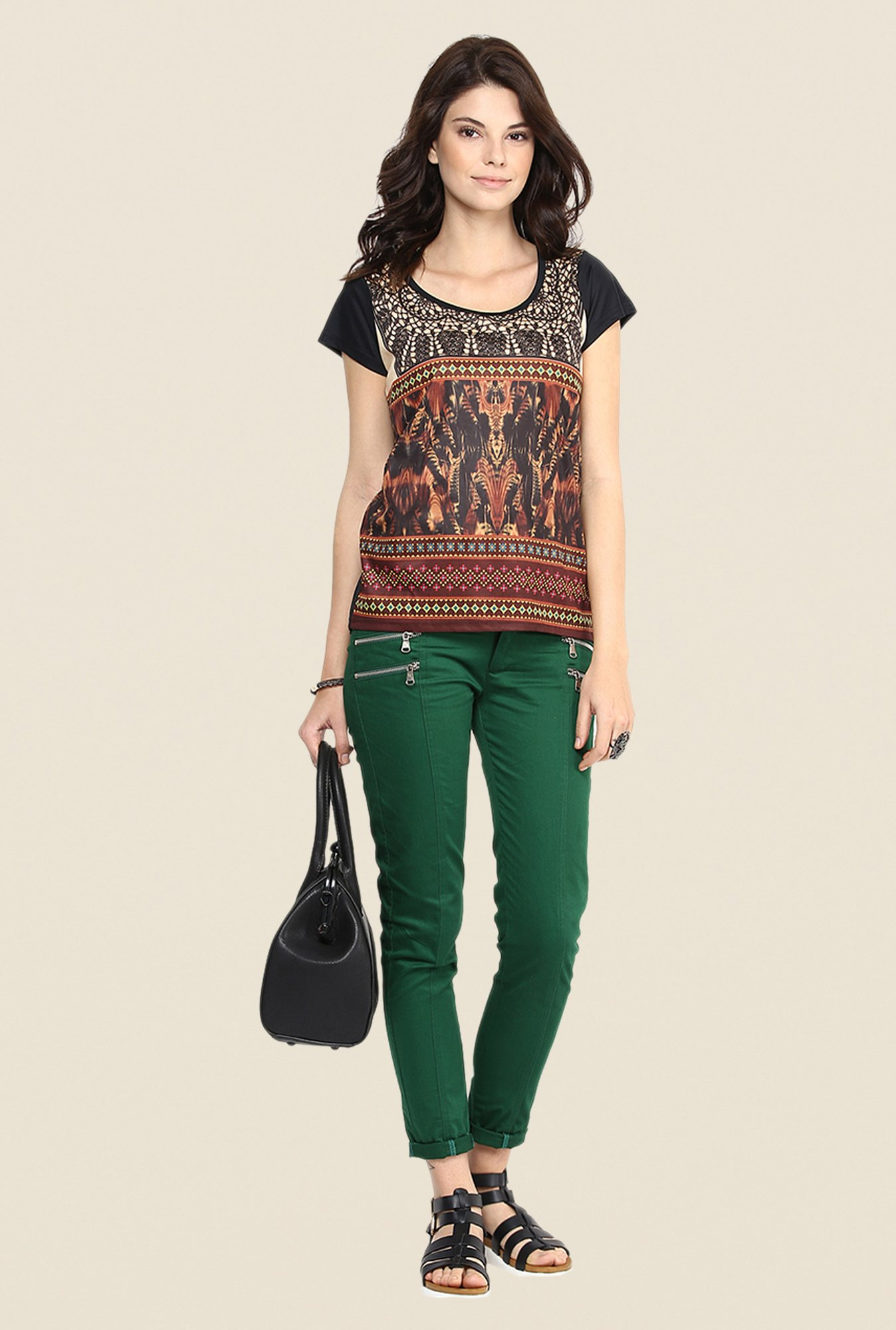 Yepme Multicolor Janice Party Top