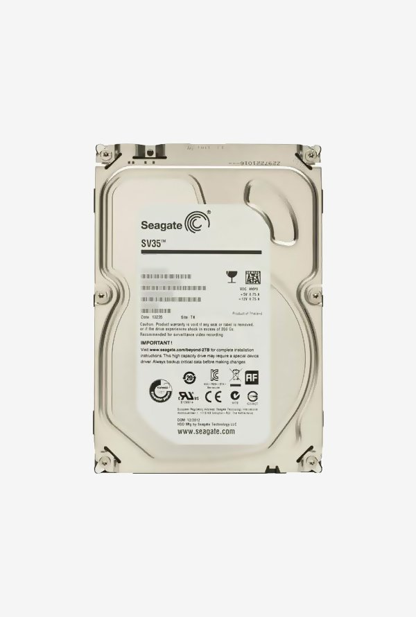 Seagate 2 TB Internal Hard Disk (Silver)
