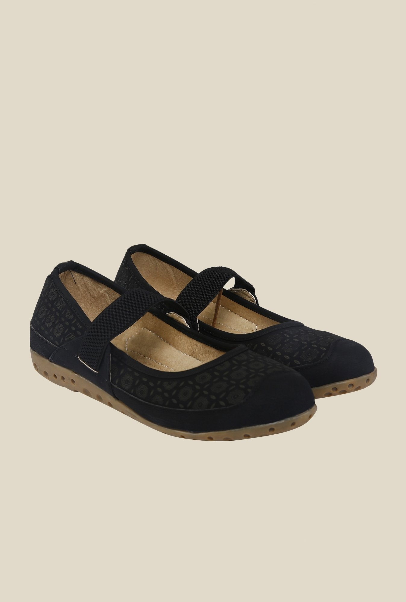 Cocoon Black Mary Jane Shoes