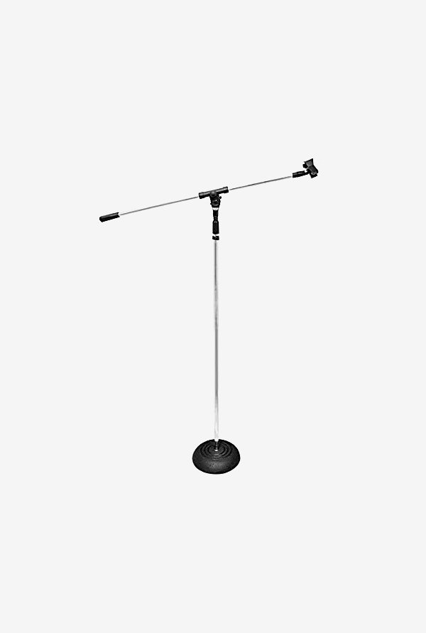 Pyle-Pro PMKS9 Base Boom Microphone Stand (Silver/Black)