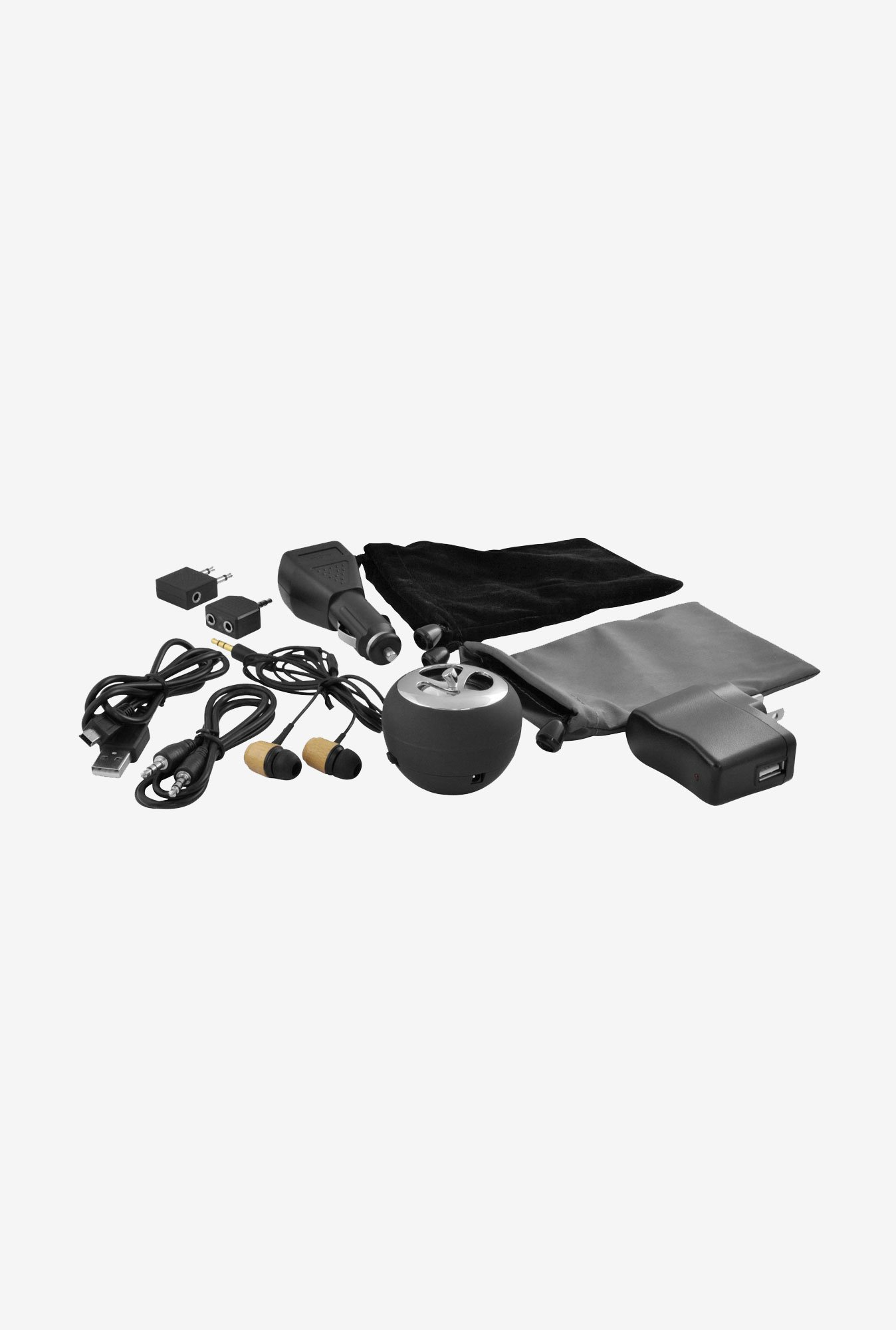 Ematic EI030 Universal MP3 Player Accessory kit (Black)