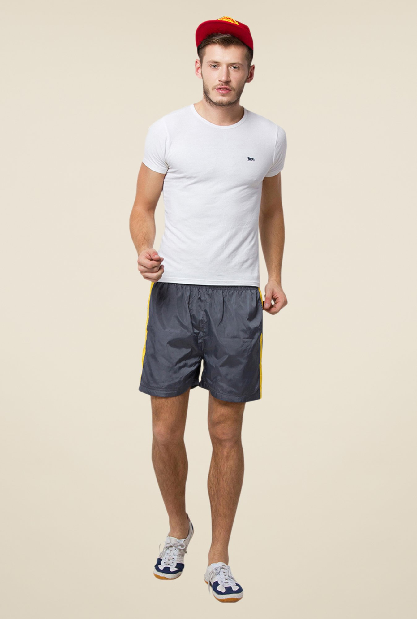 Yepme Dark Grey Stevie Shorts
