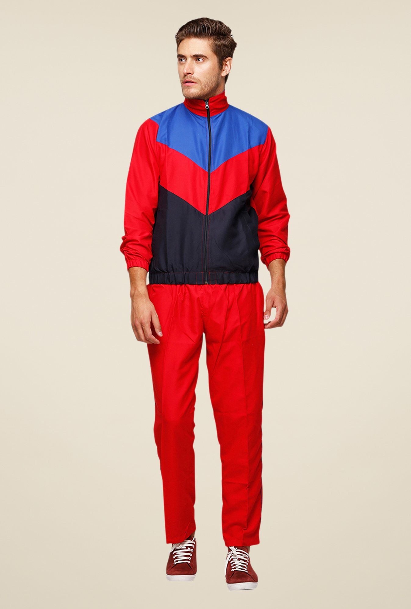 Yepme Red Trilo Tracksuit