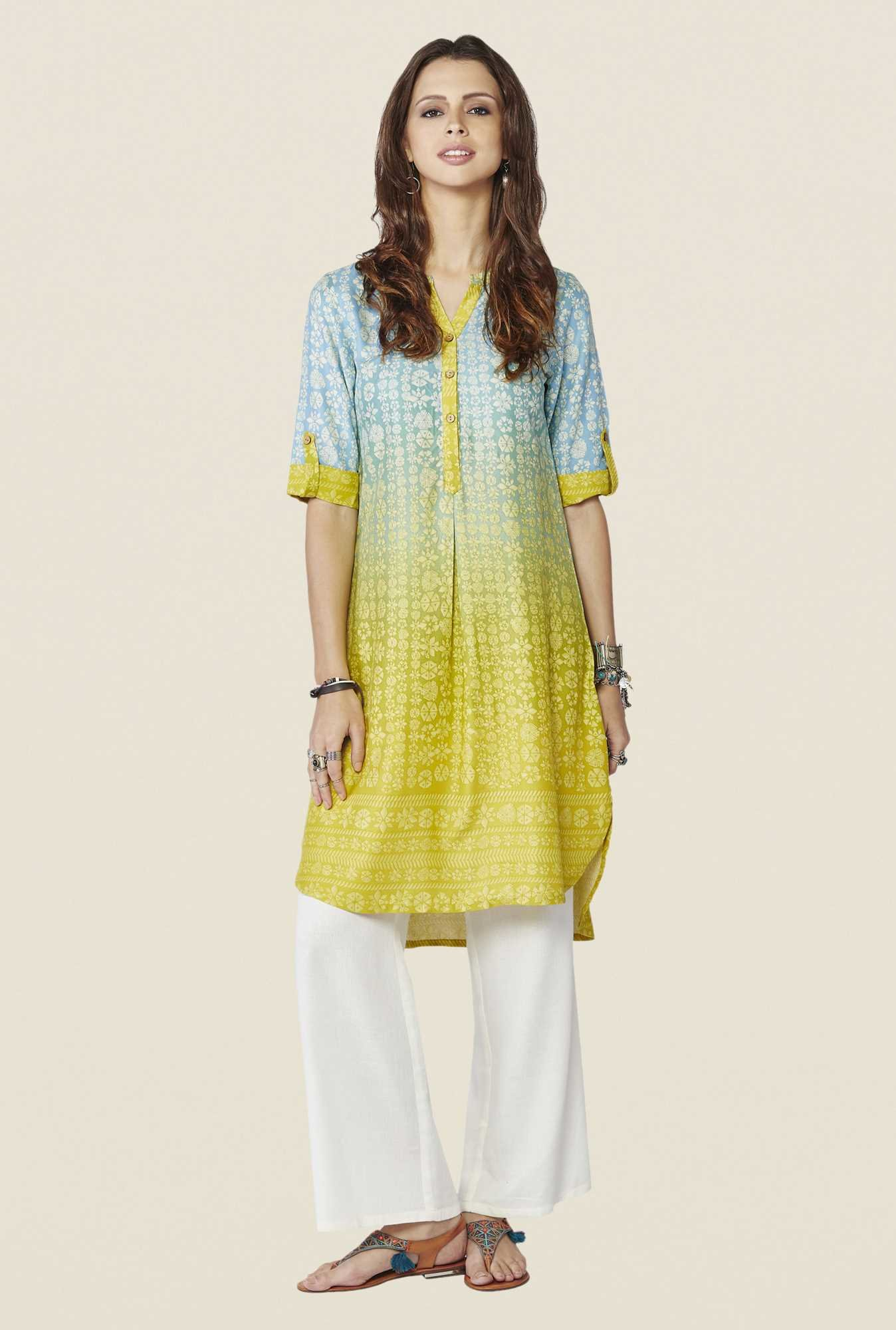 Global Desi Multicolor Ombre Tunic