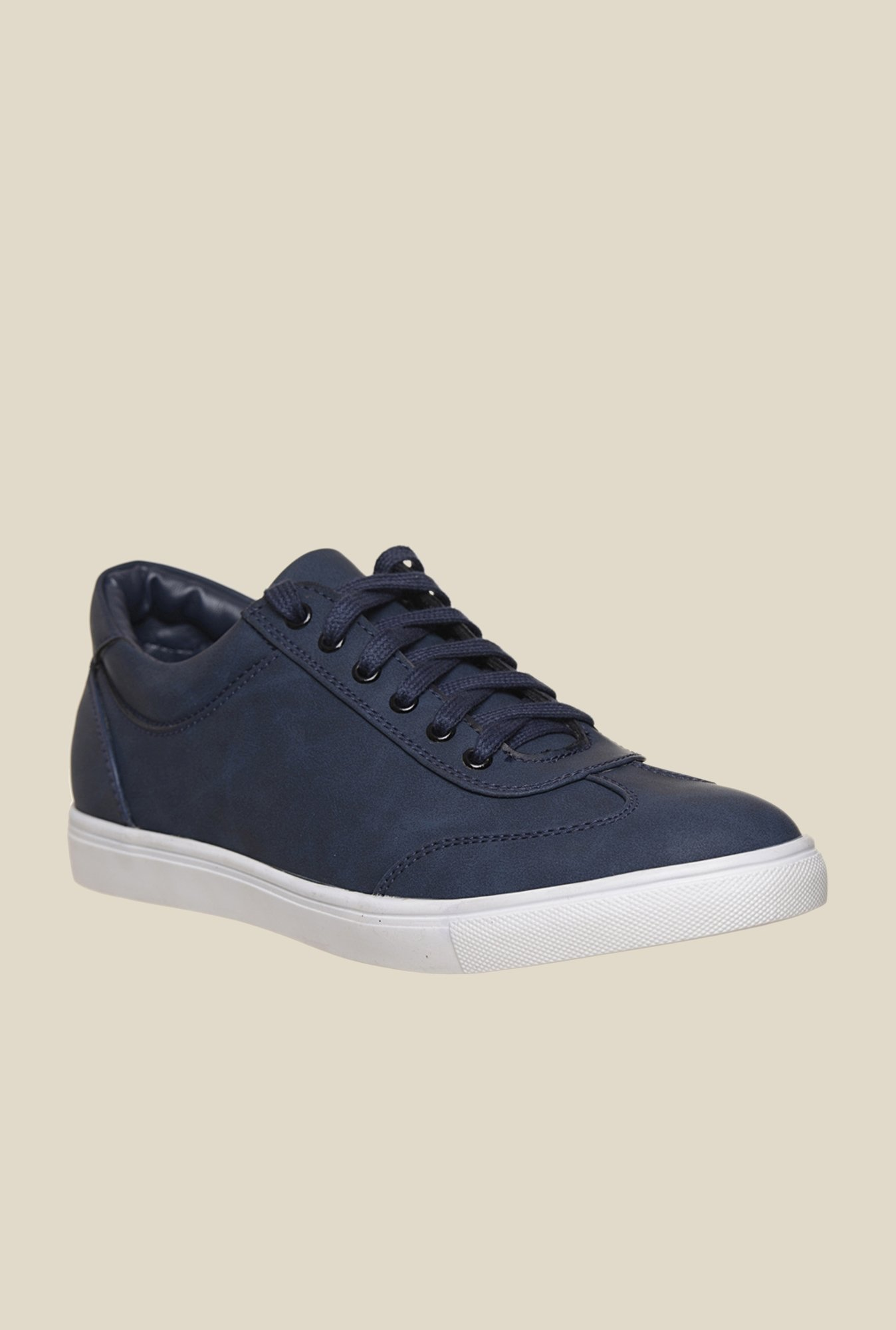 Bruno Manetti Navy & White Sneakers