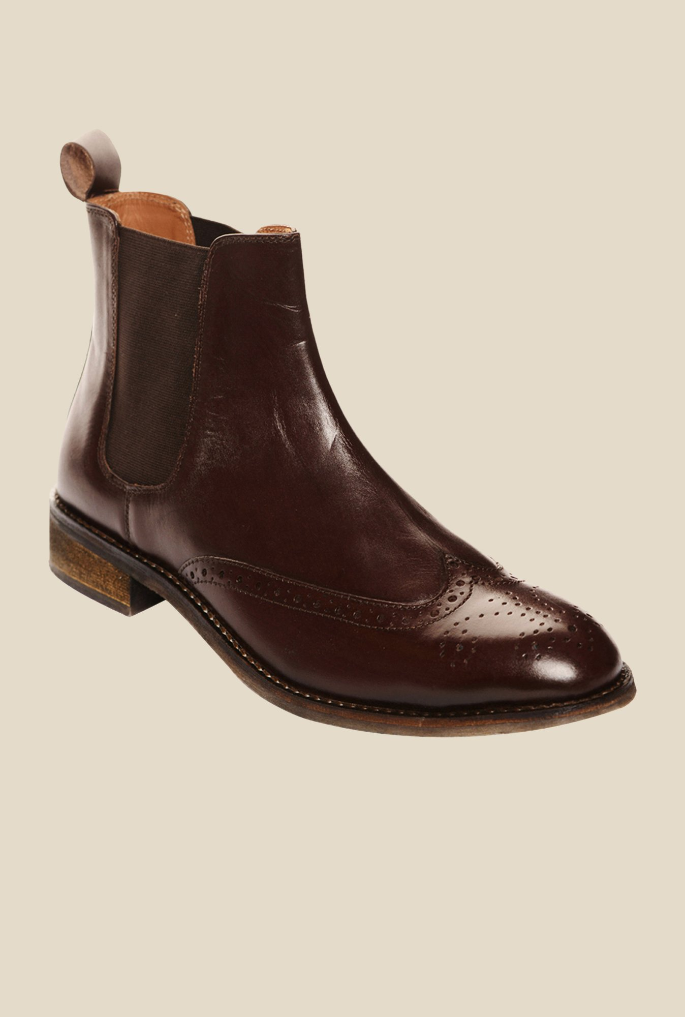 Bruno Manetti Brown Chelsea Boots