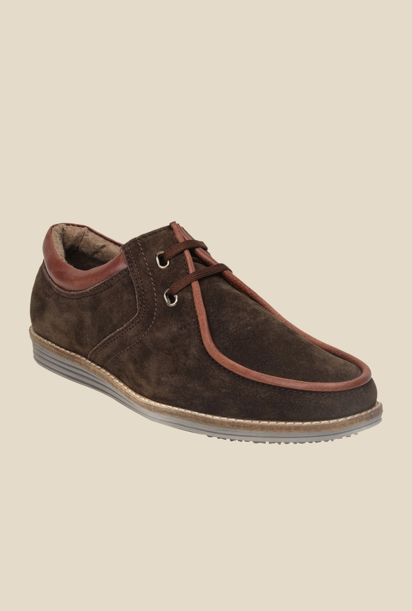 Bruno Manetti Brown Casual Shoes