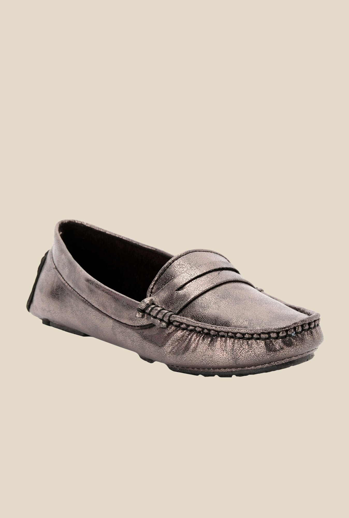 Bruno Manetti Bronze Casual Loafers
